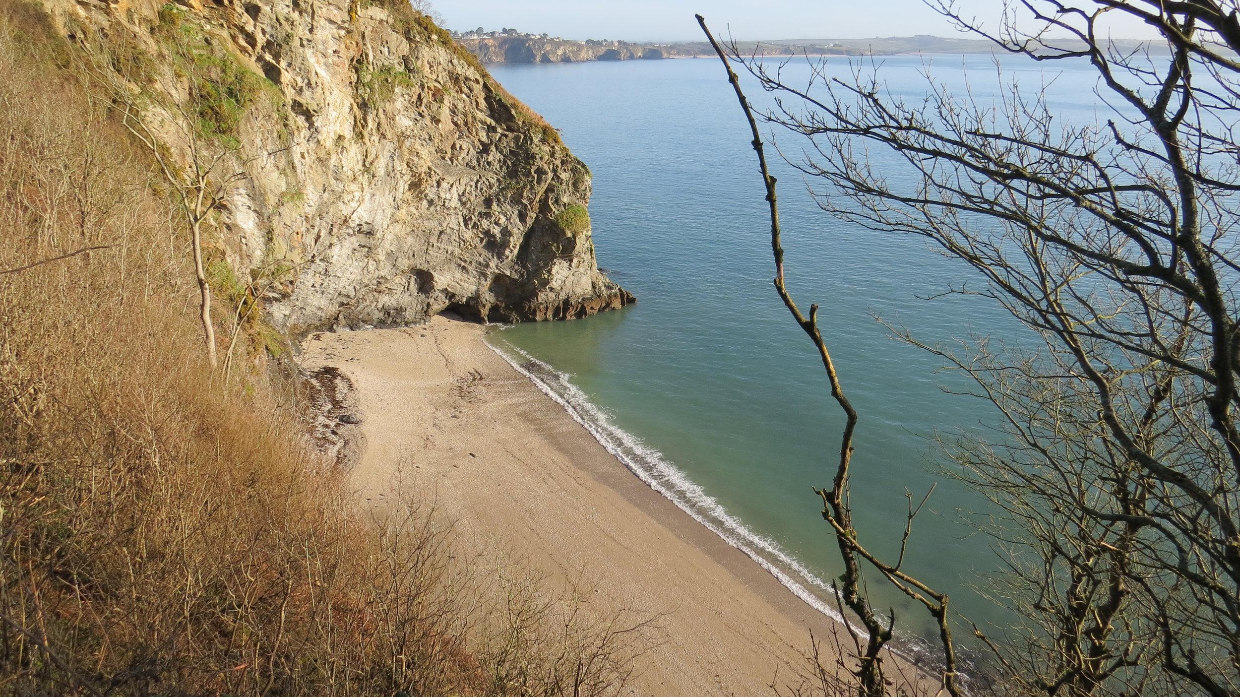 Glimpse of Beach
