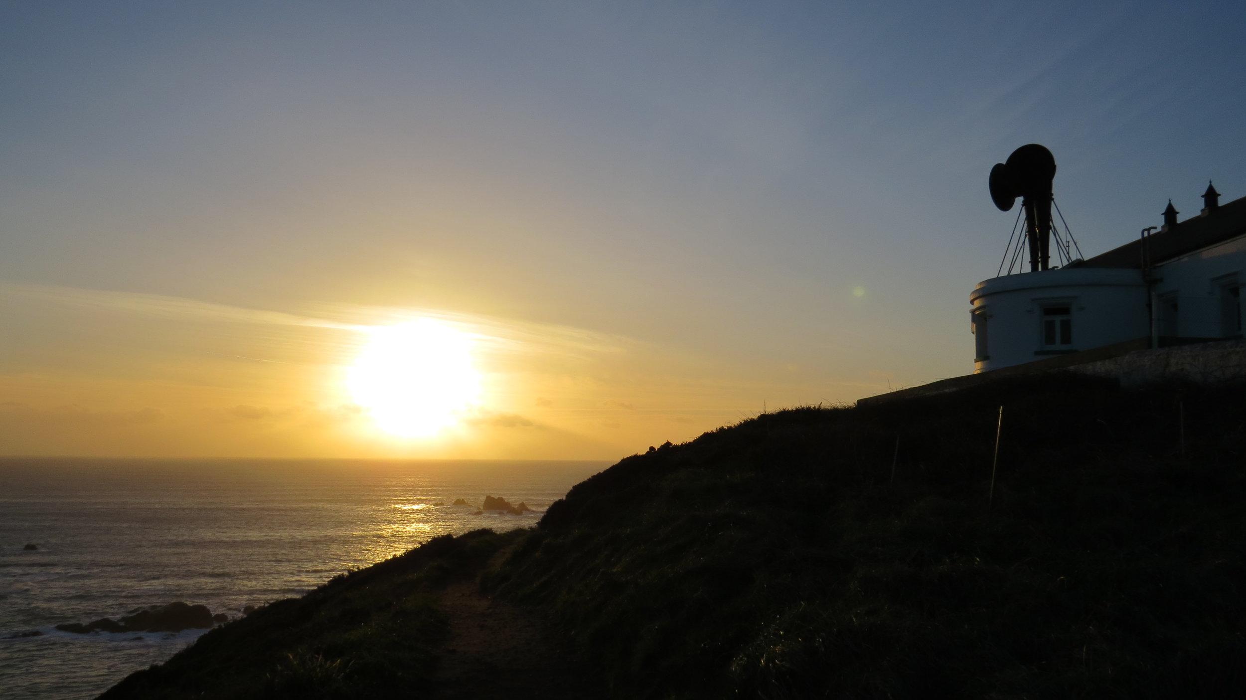 Sunset & Foghorns