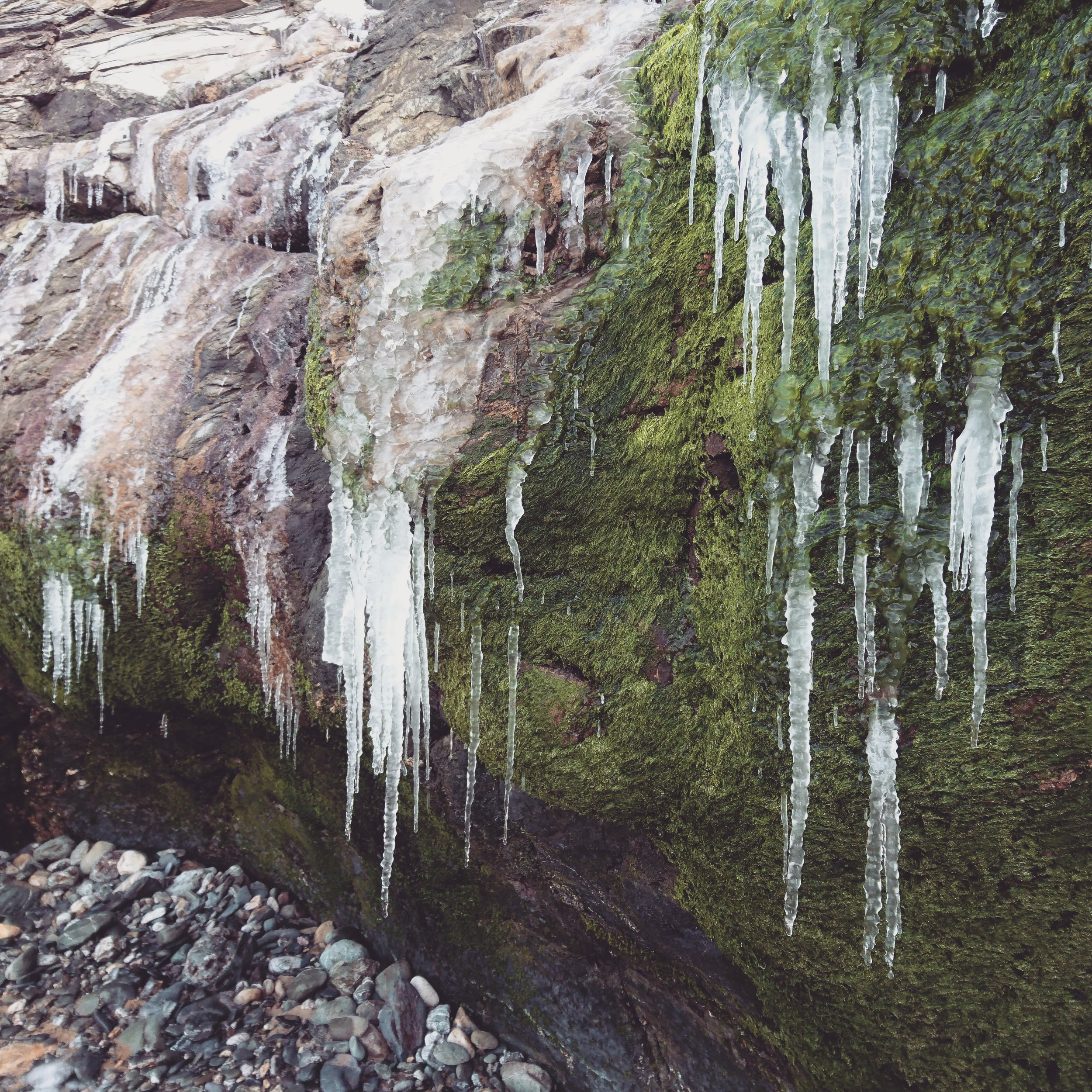 Dangling Icicles