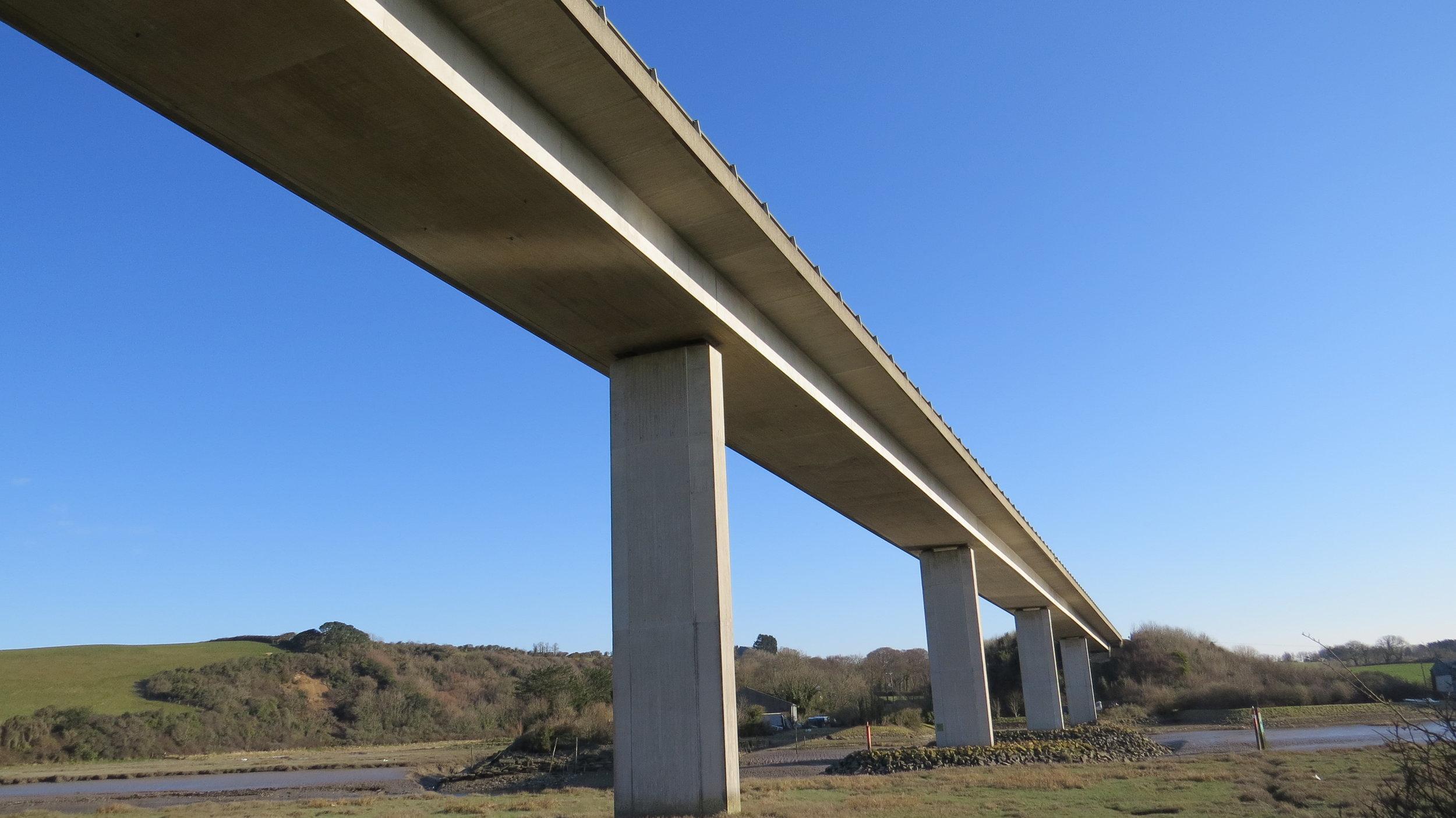 A39 Bridge over Camel