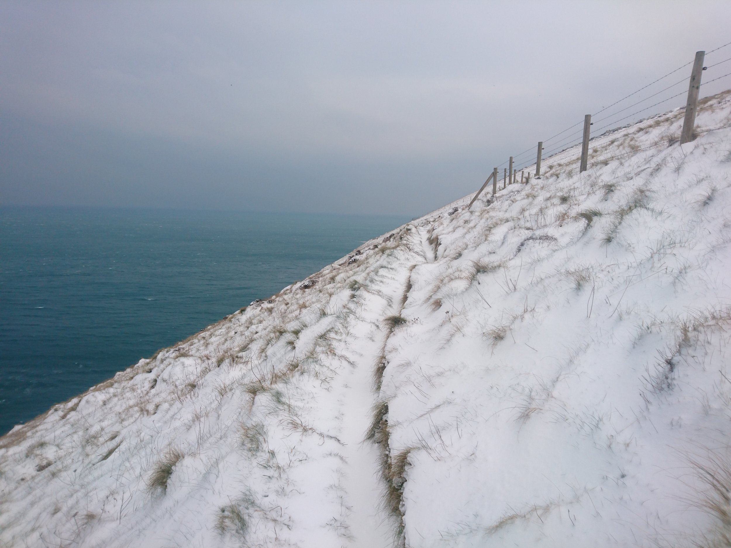 Snow and Sea