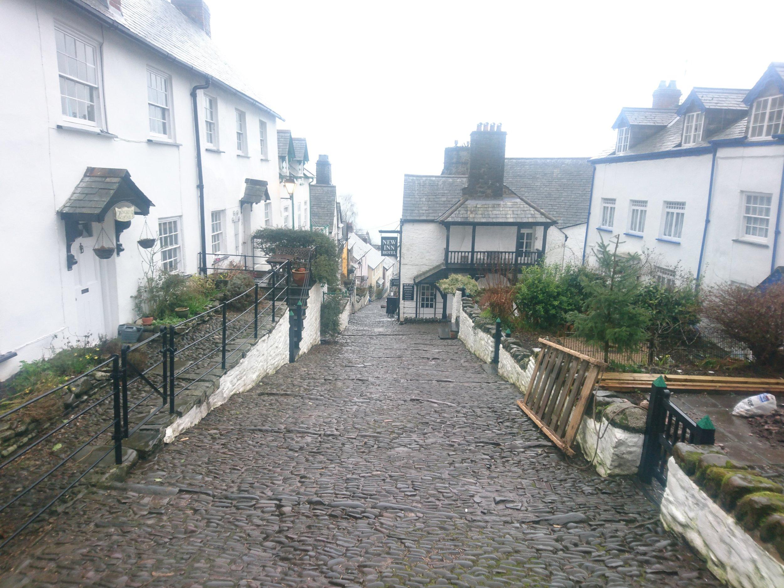 Clovelly High Street
