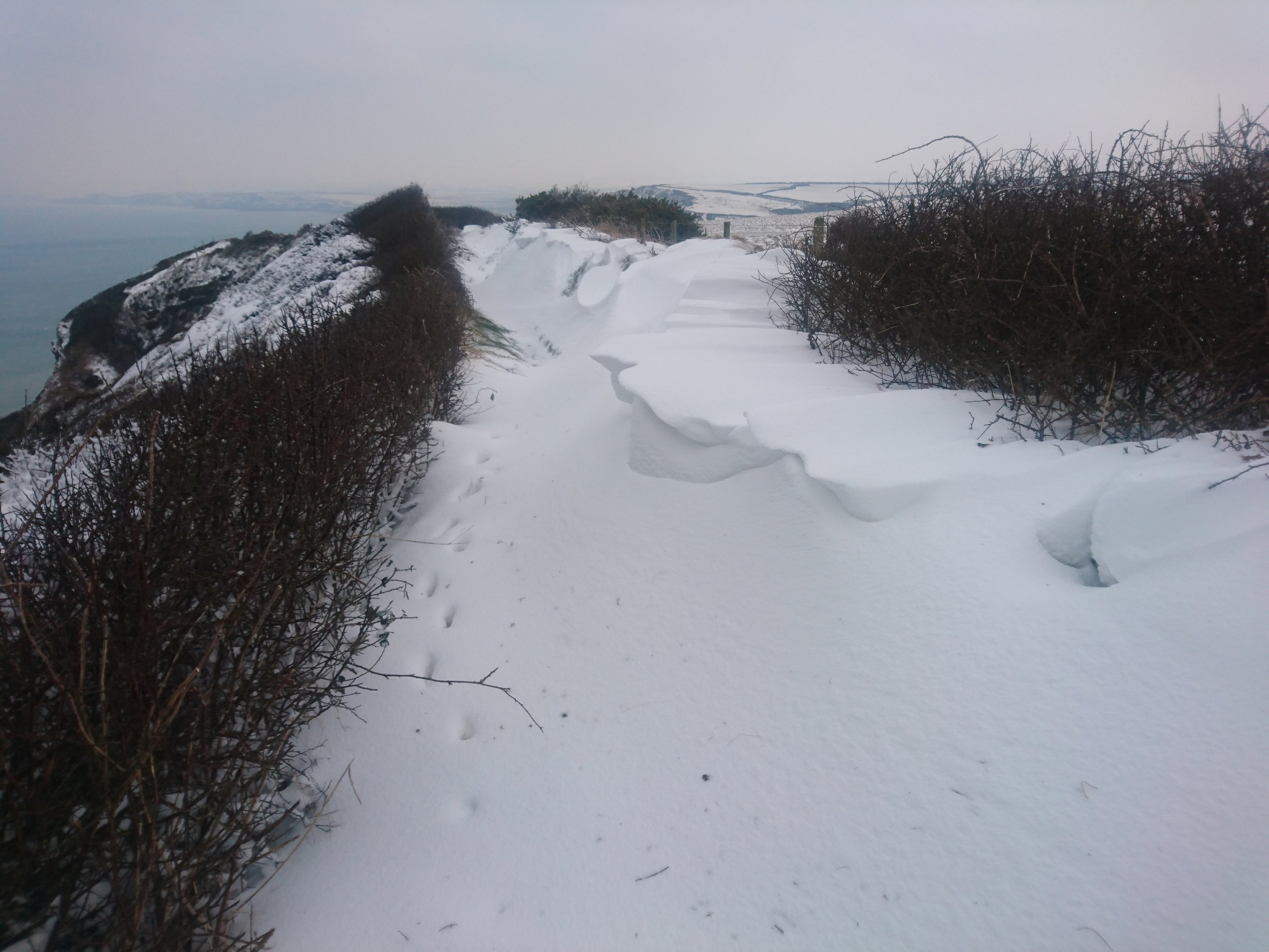 Drift Covered Path