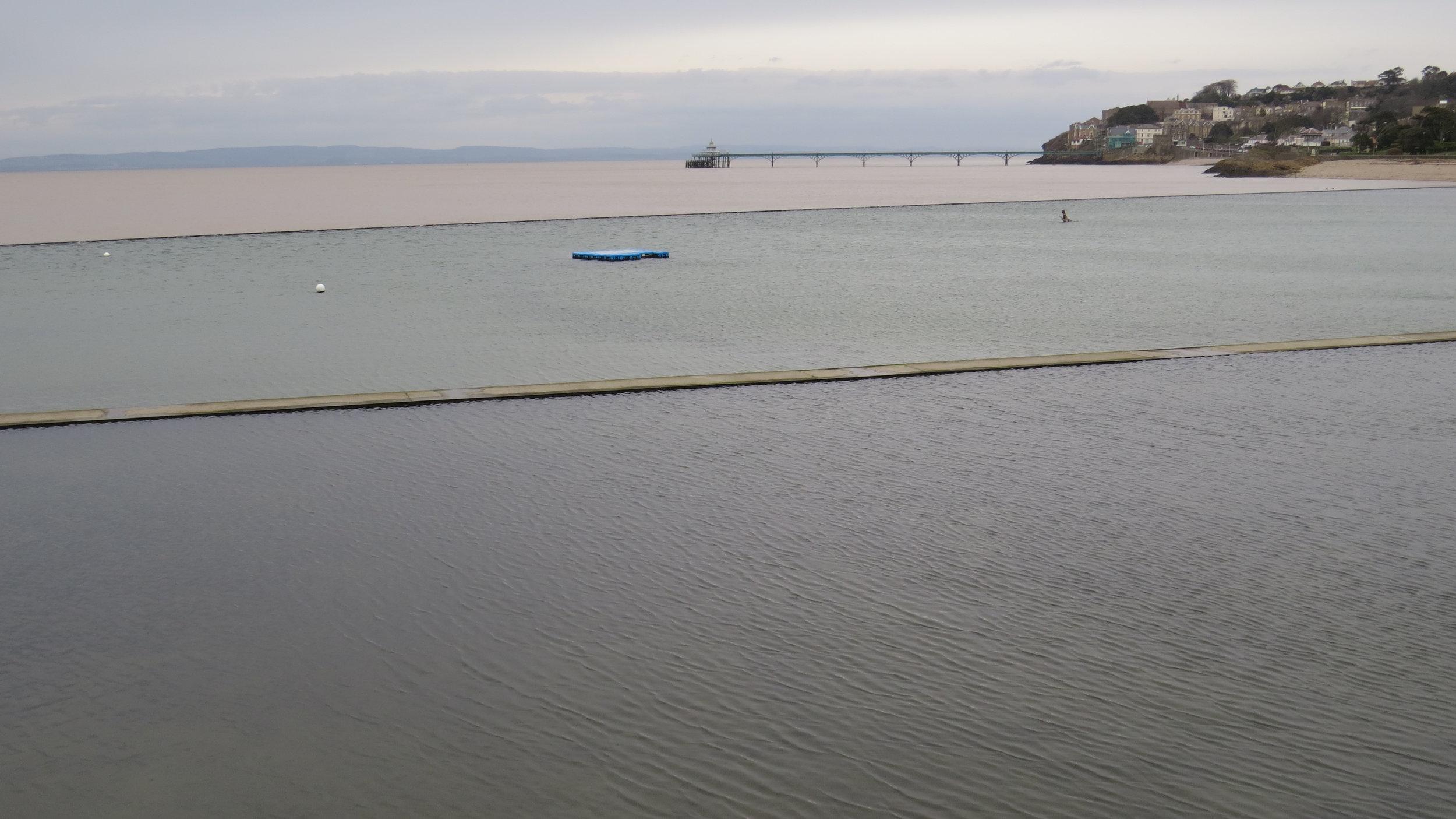 Marine Lake Clevedon