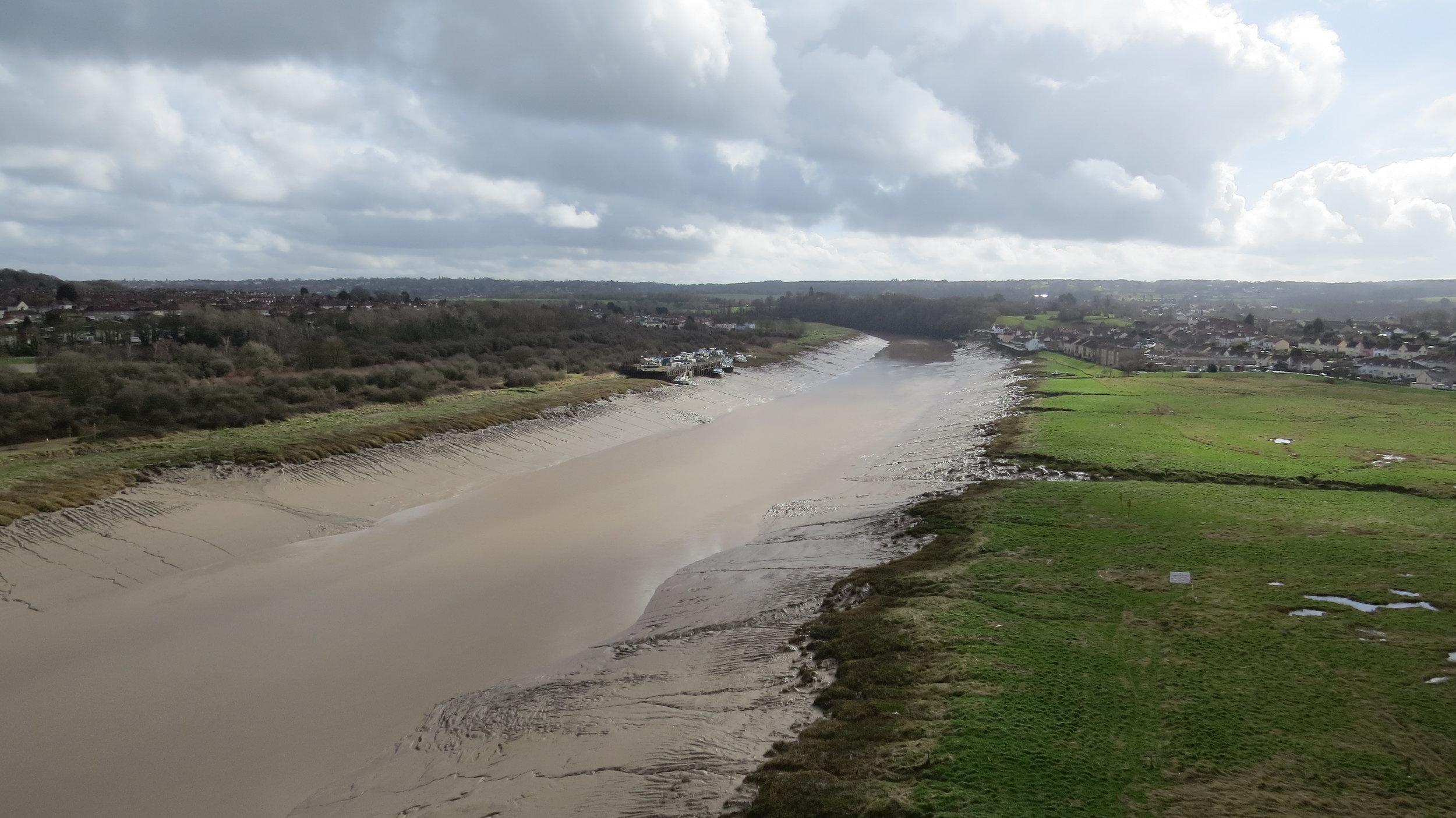 View from Avon Bridge