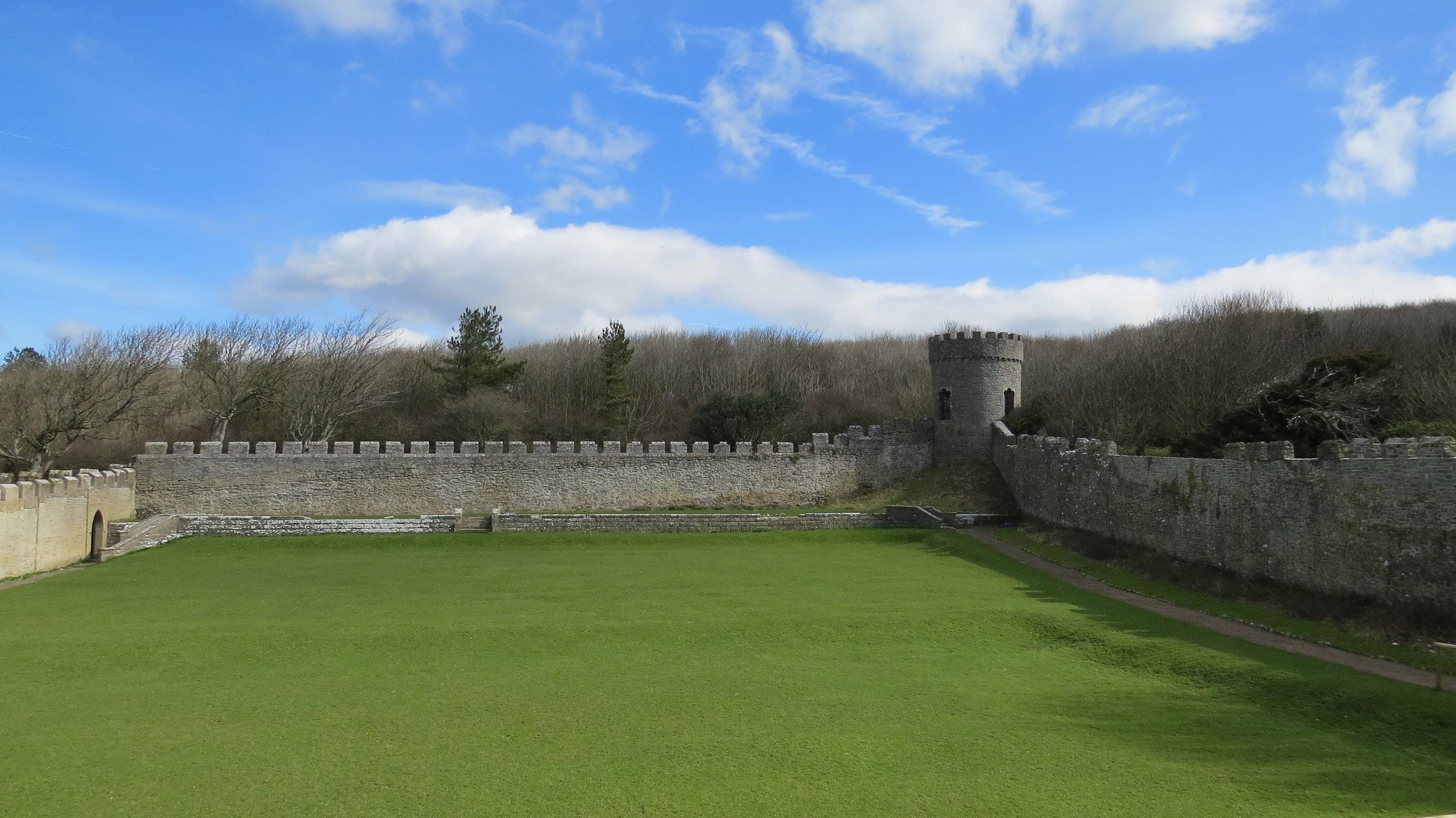 Secret Garden Dunraven Castle