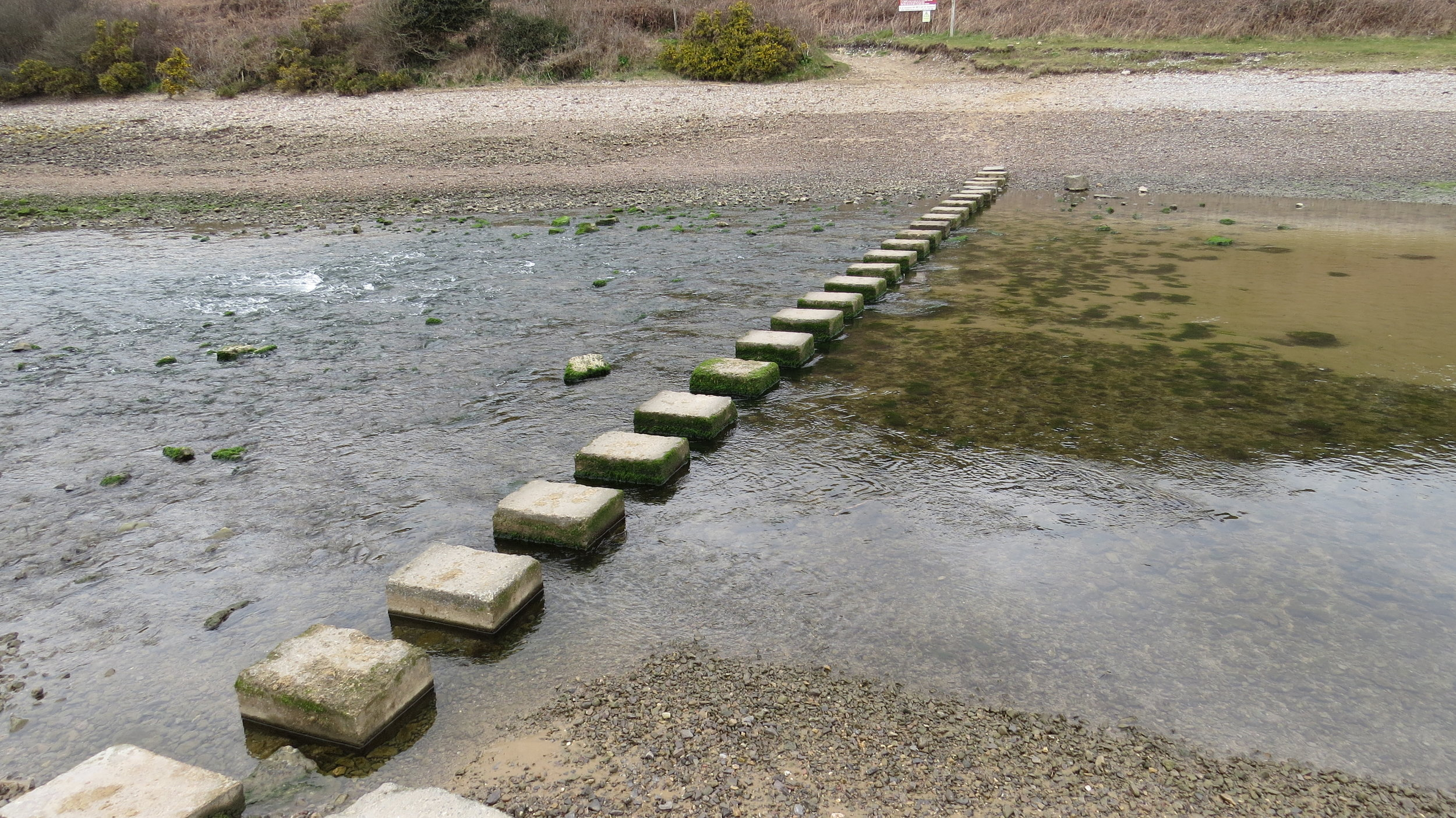 Pennard Pill Stepping Stones