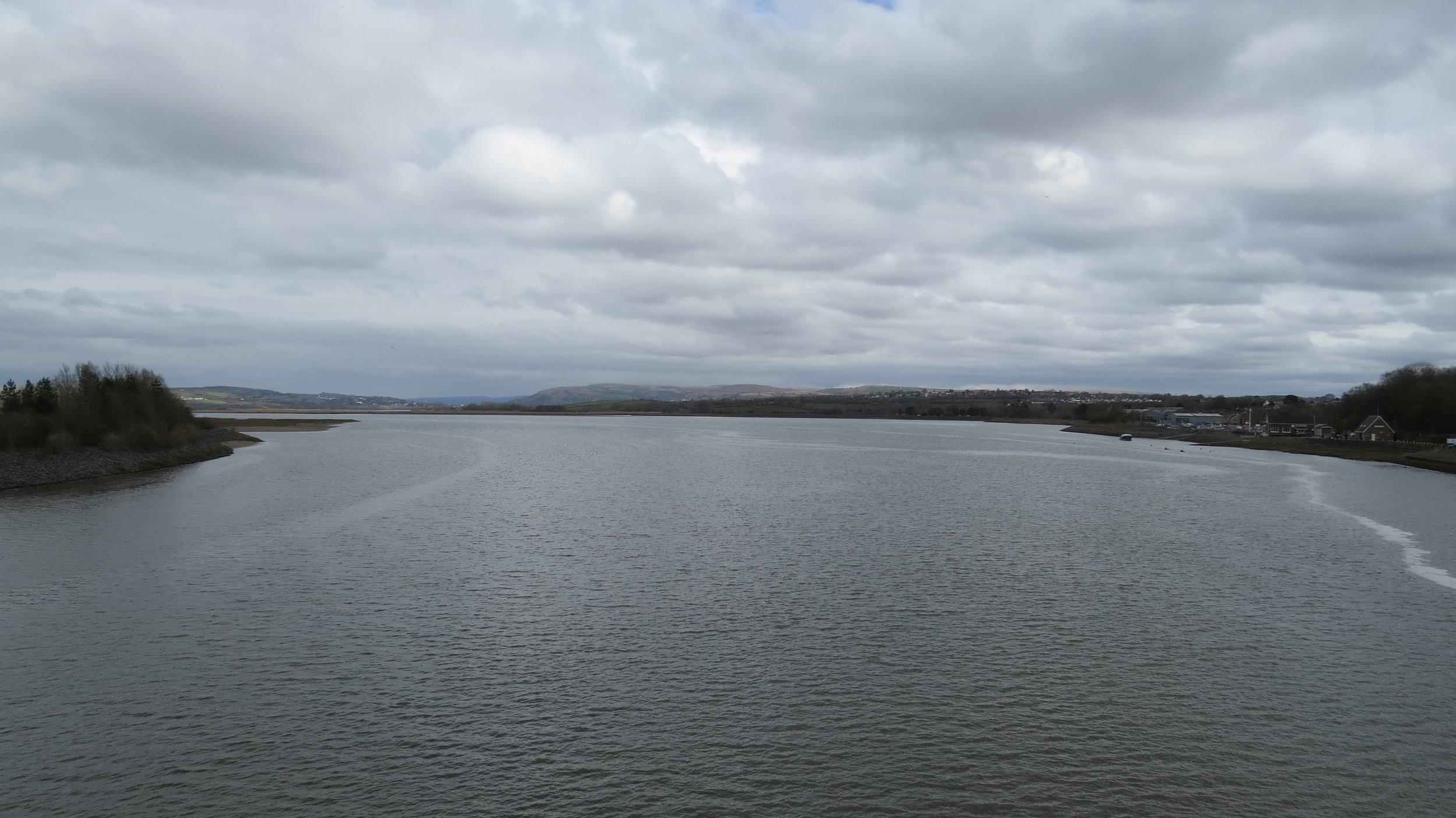 View from Loughor Bride