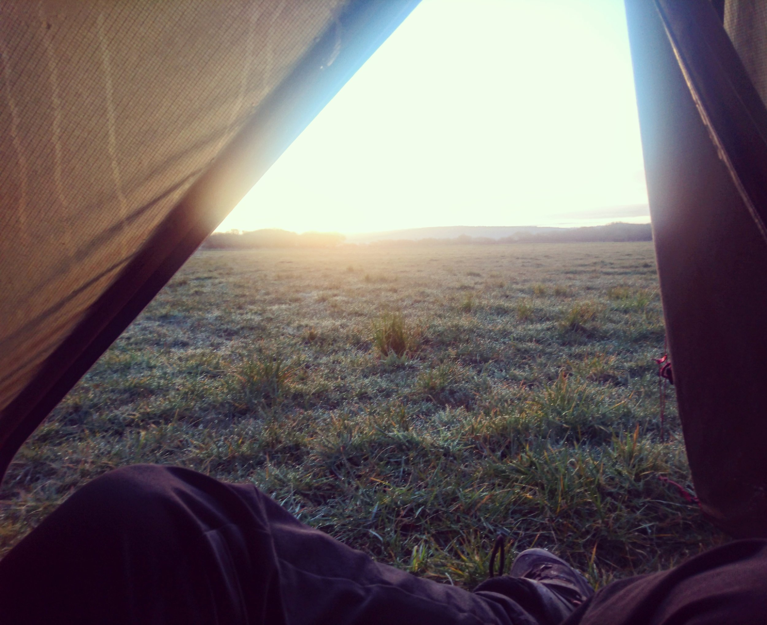 Sunrise from Tent