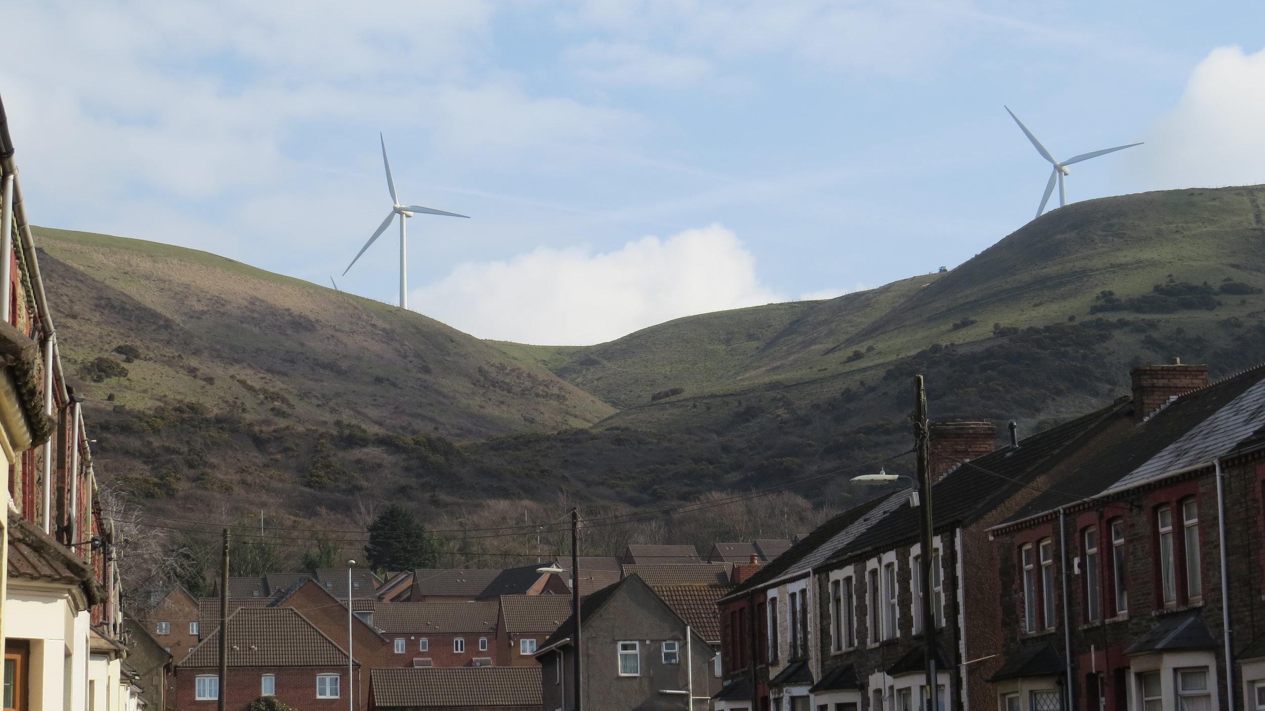 Hills above Margam