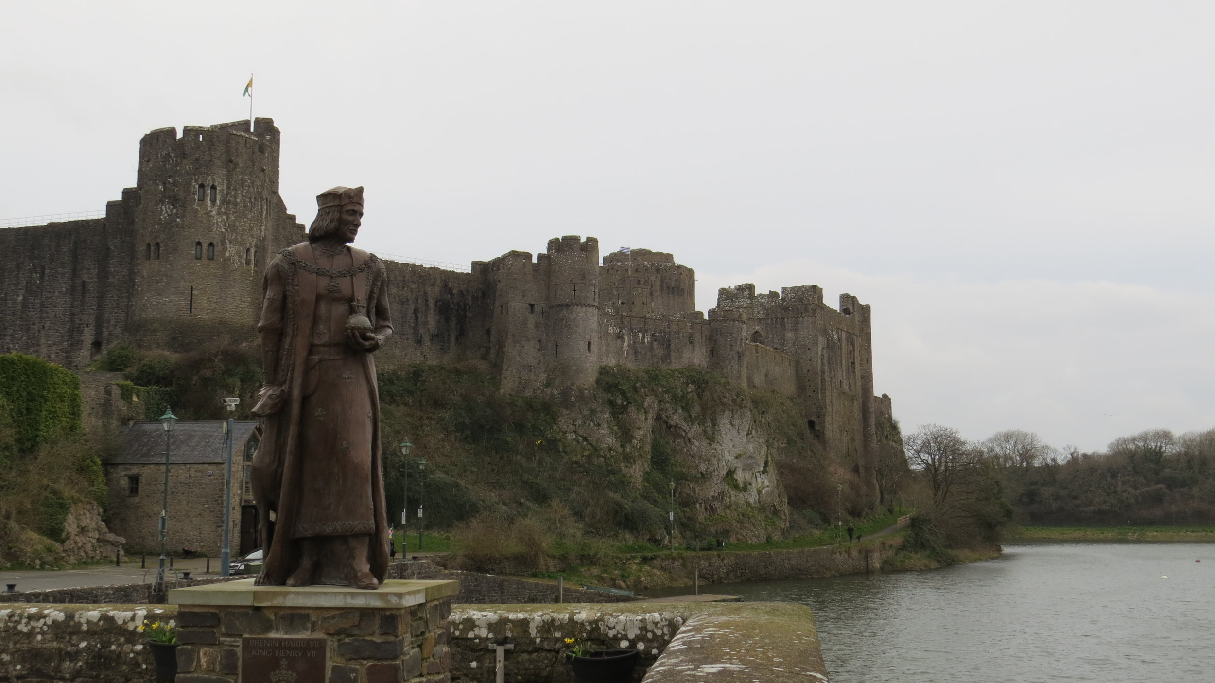 Henry VII at Pembroke Castle
