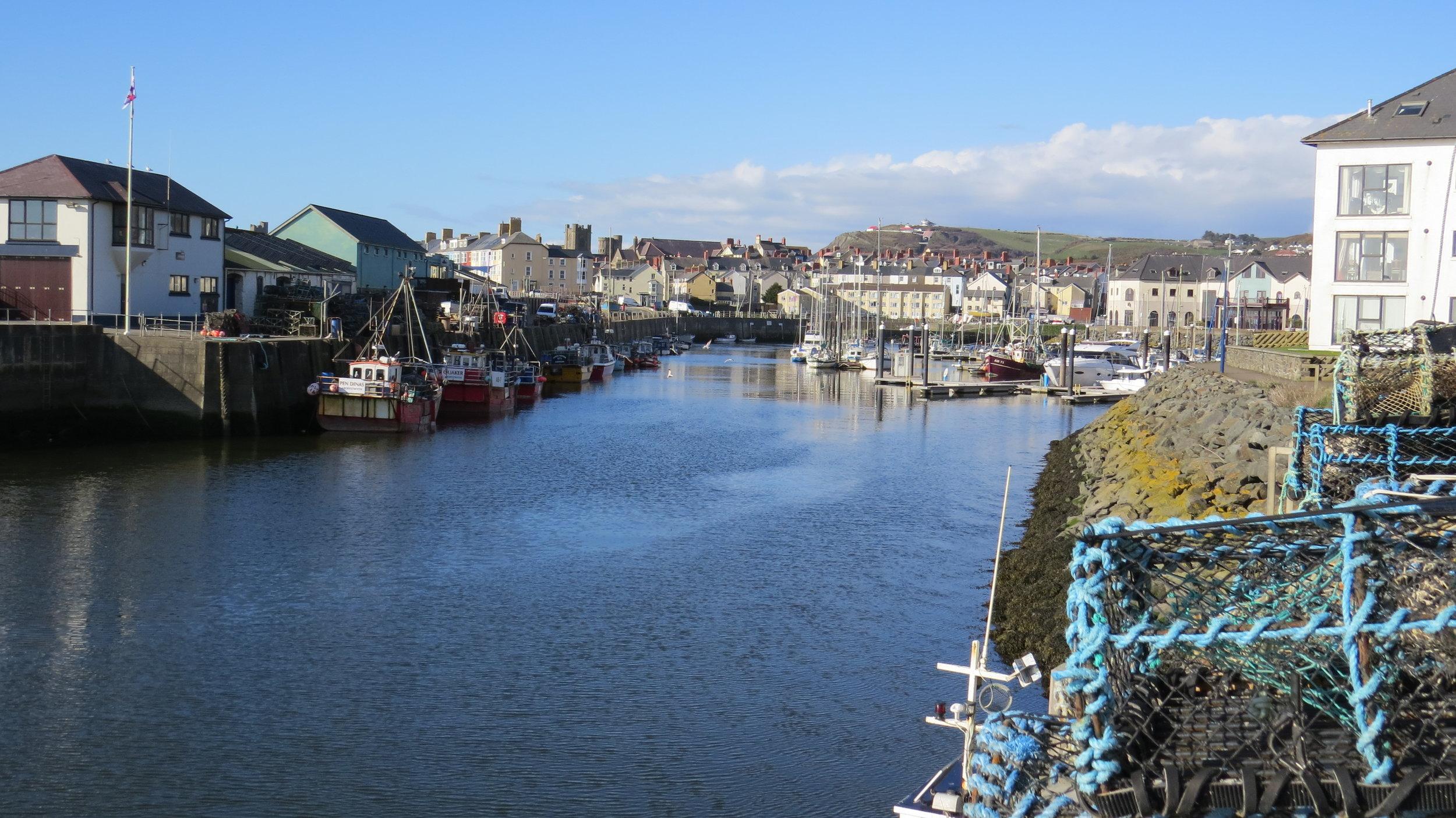 Aberystwyth Harbour