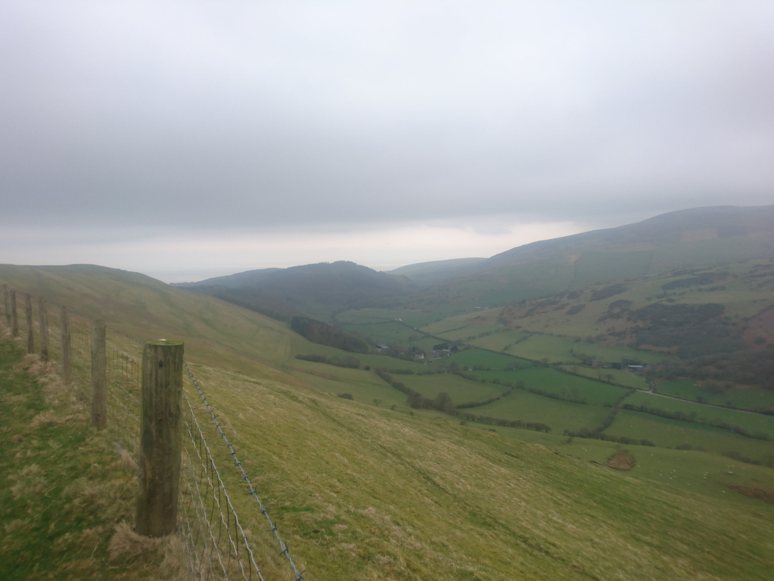 View down Happy Valley