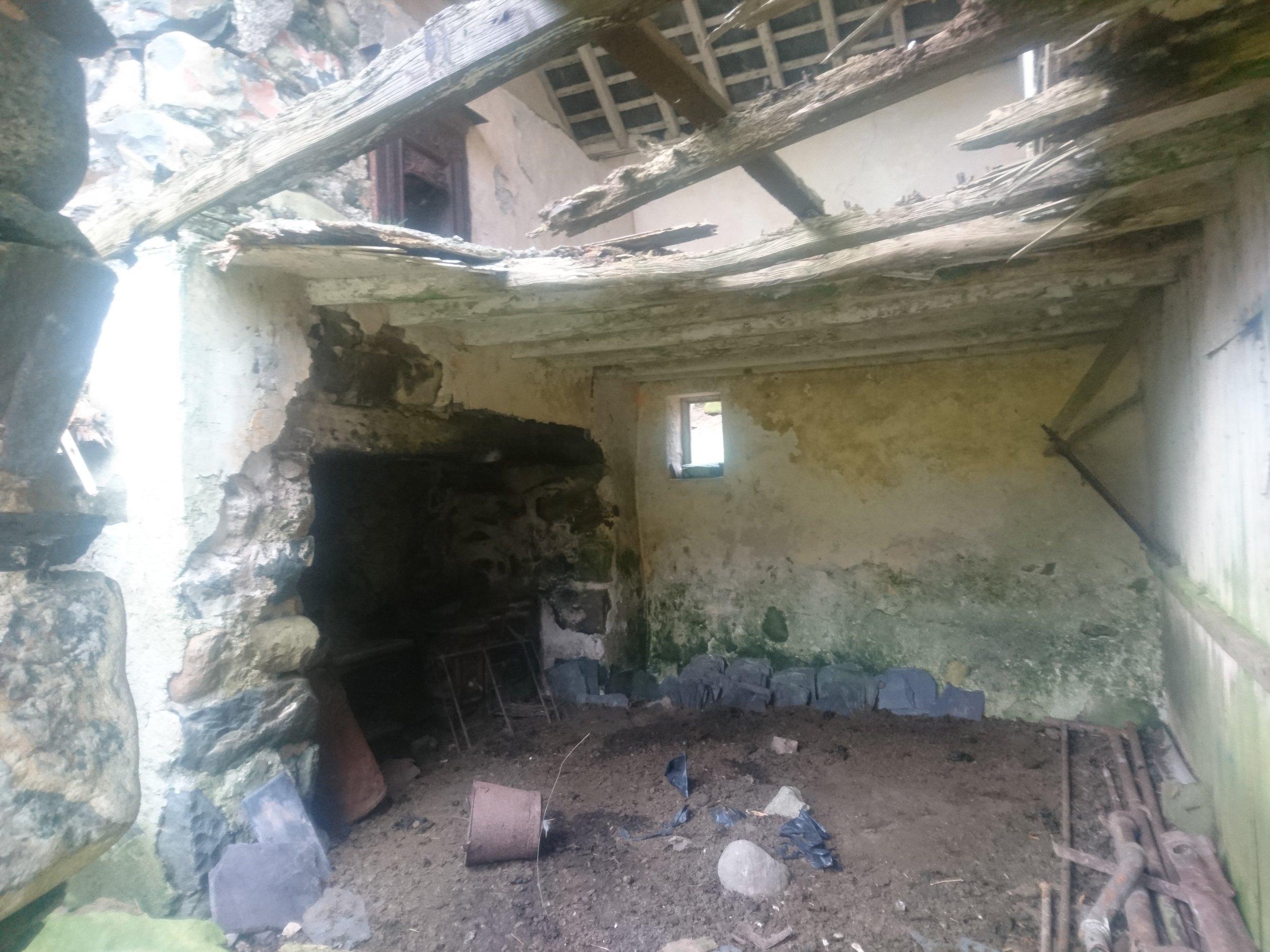Remote Derelict House
