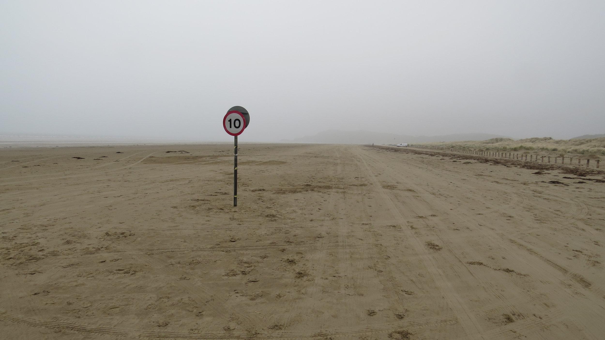 Speed Limit on Beach