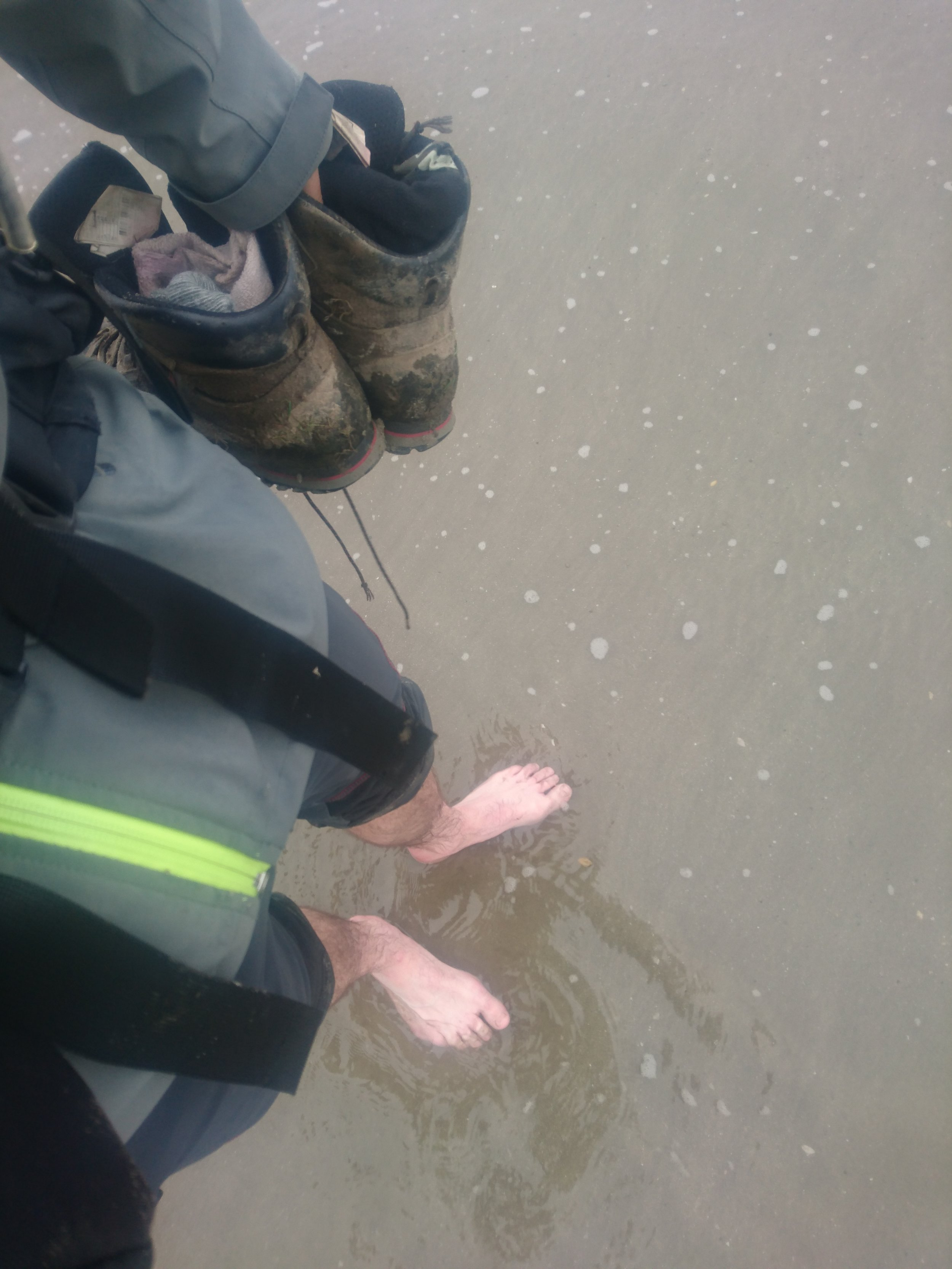 After Wading Around Graig Dhu