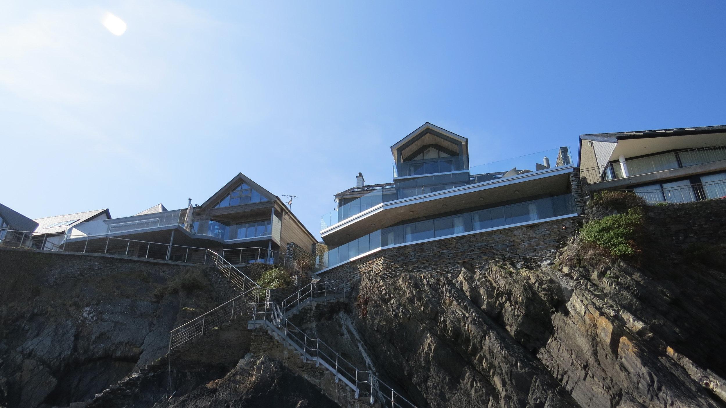 Clifftop Houses Abersoch