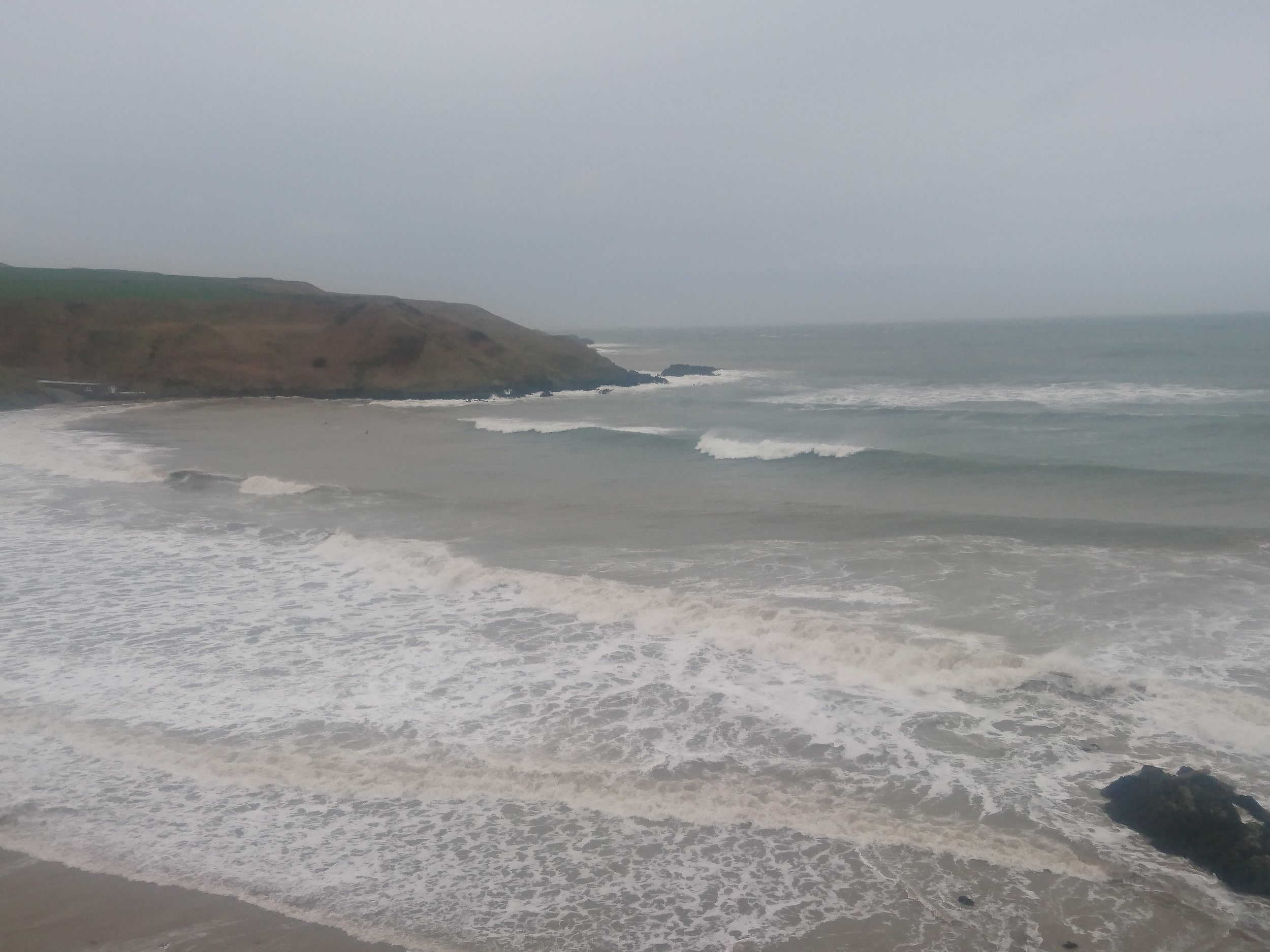 Whistling Sands from Cliff
