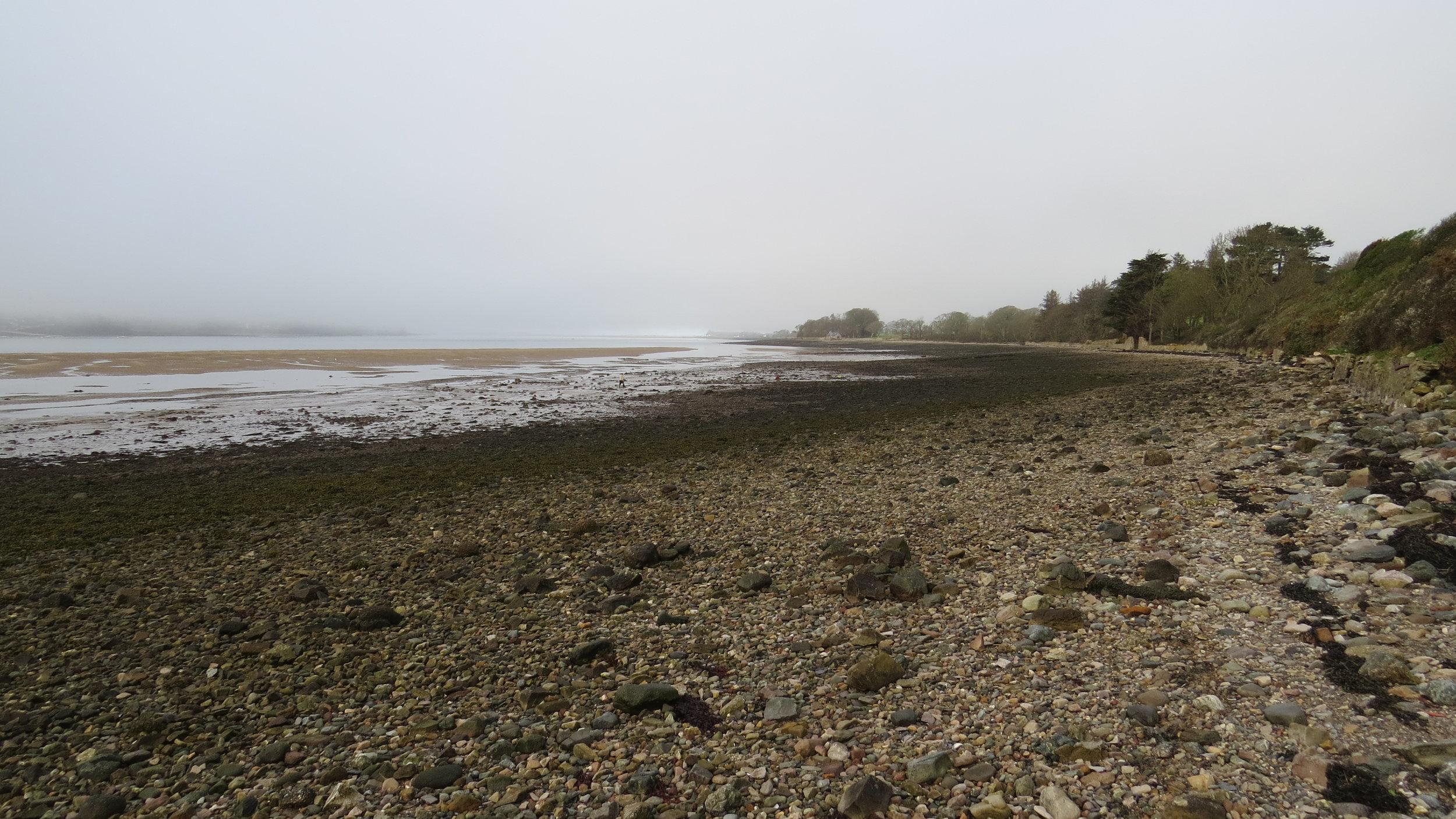 Pebble Beach near Llanidan