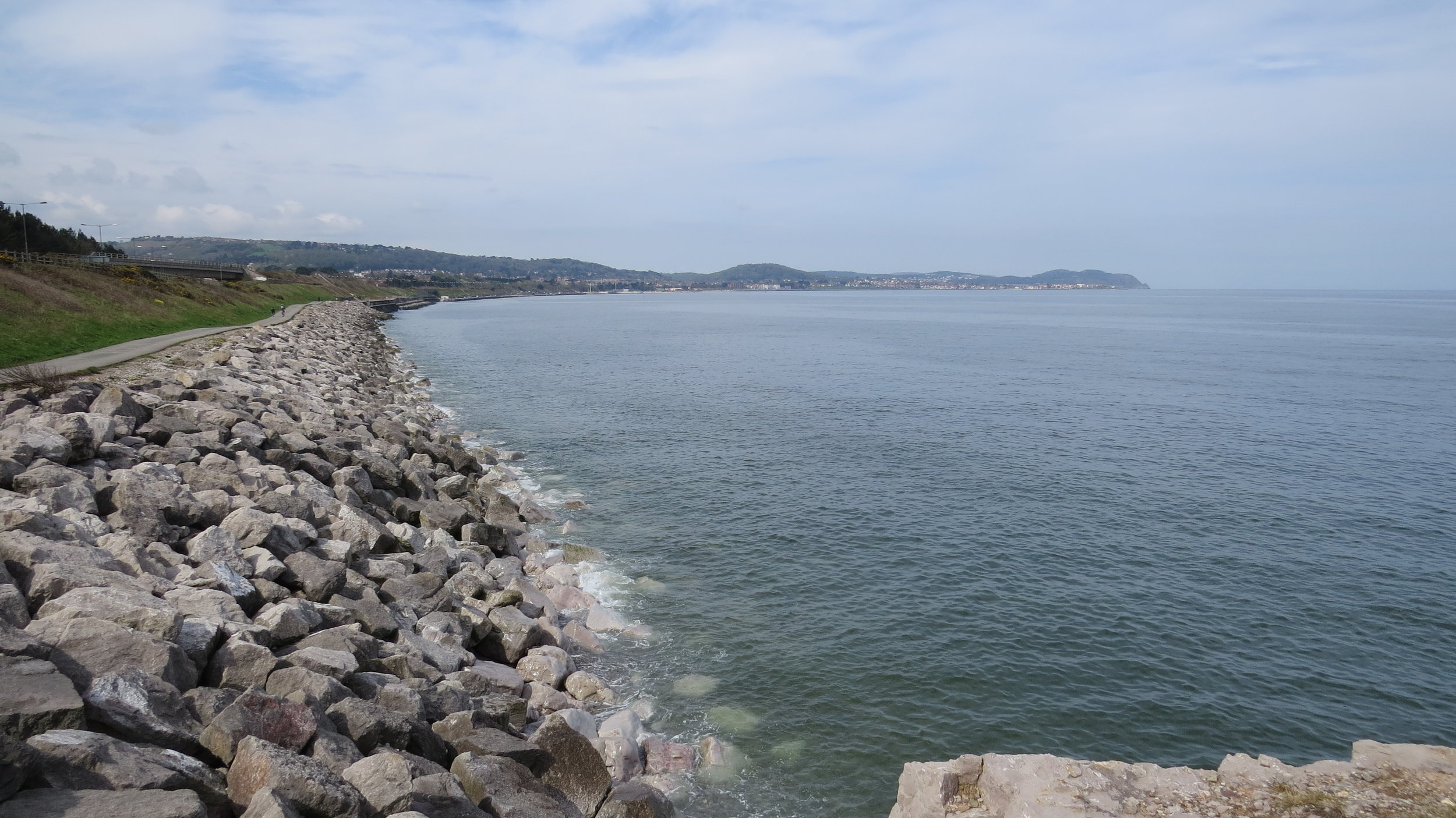 Looking Back to Colwyn Bay