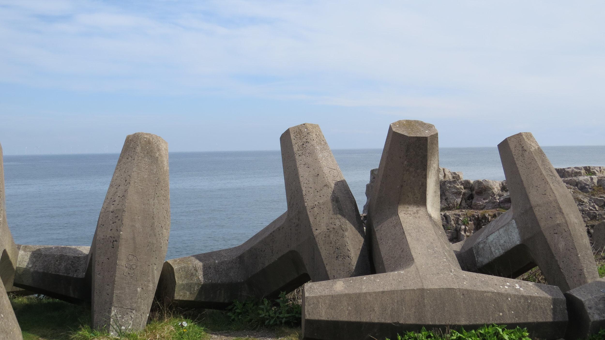 Geometric Sea Defences