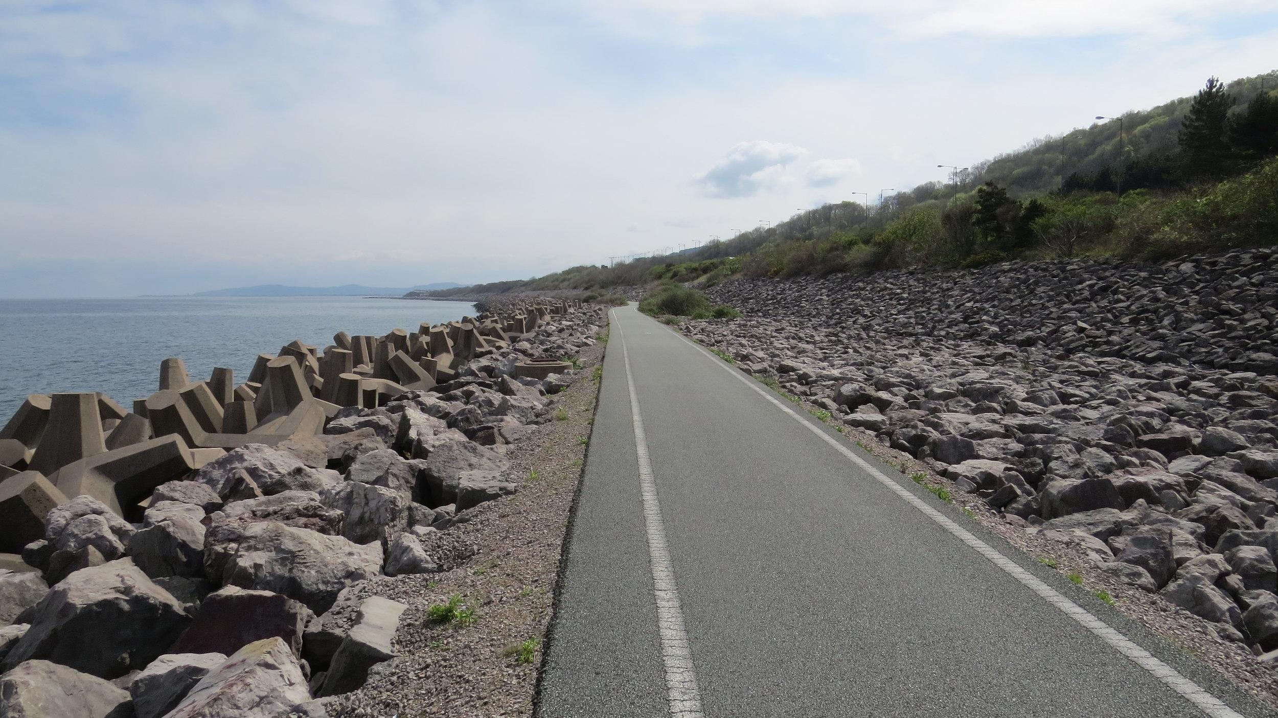 Long, Straight Tarmacked, Path