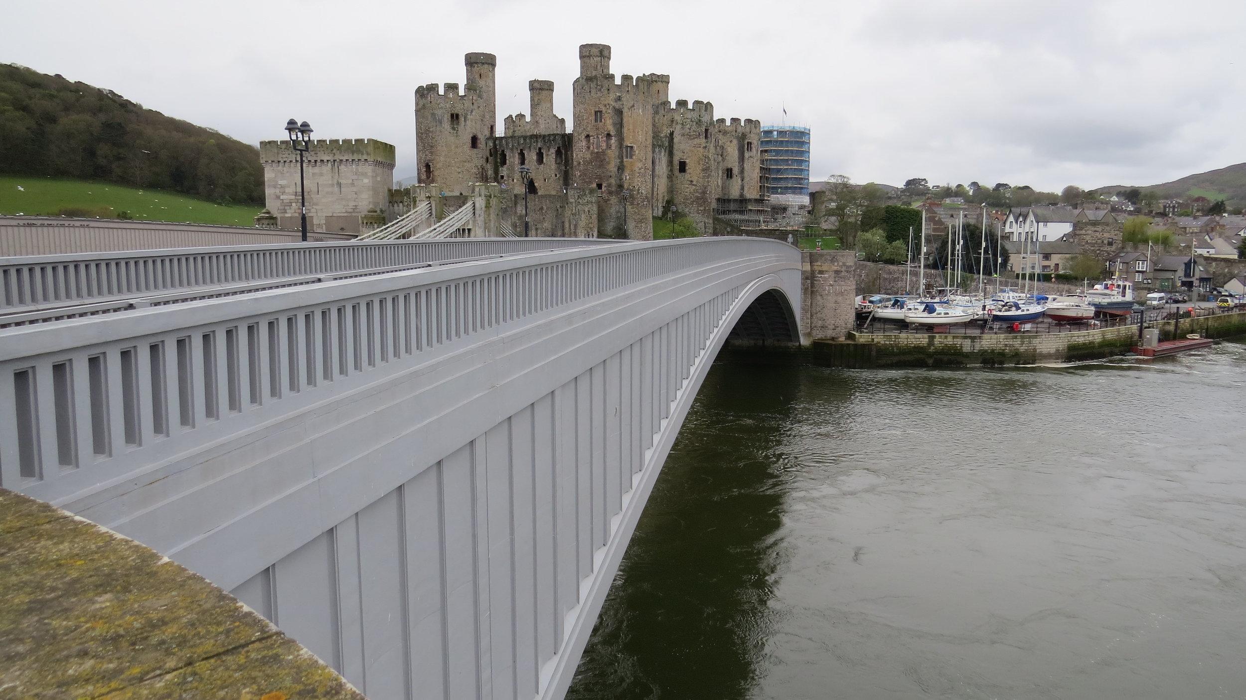 Conwy Bridge & Castle