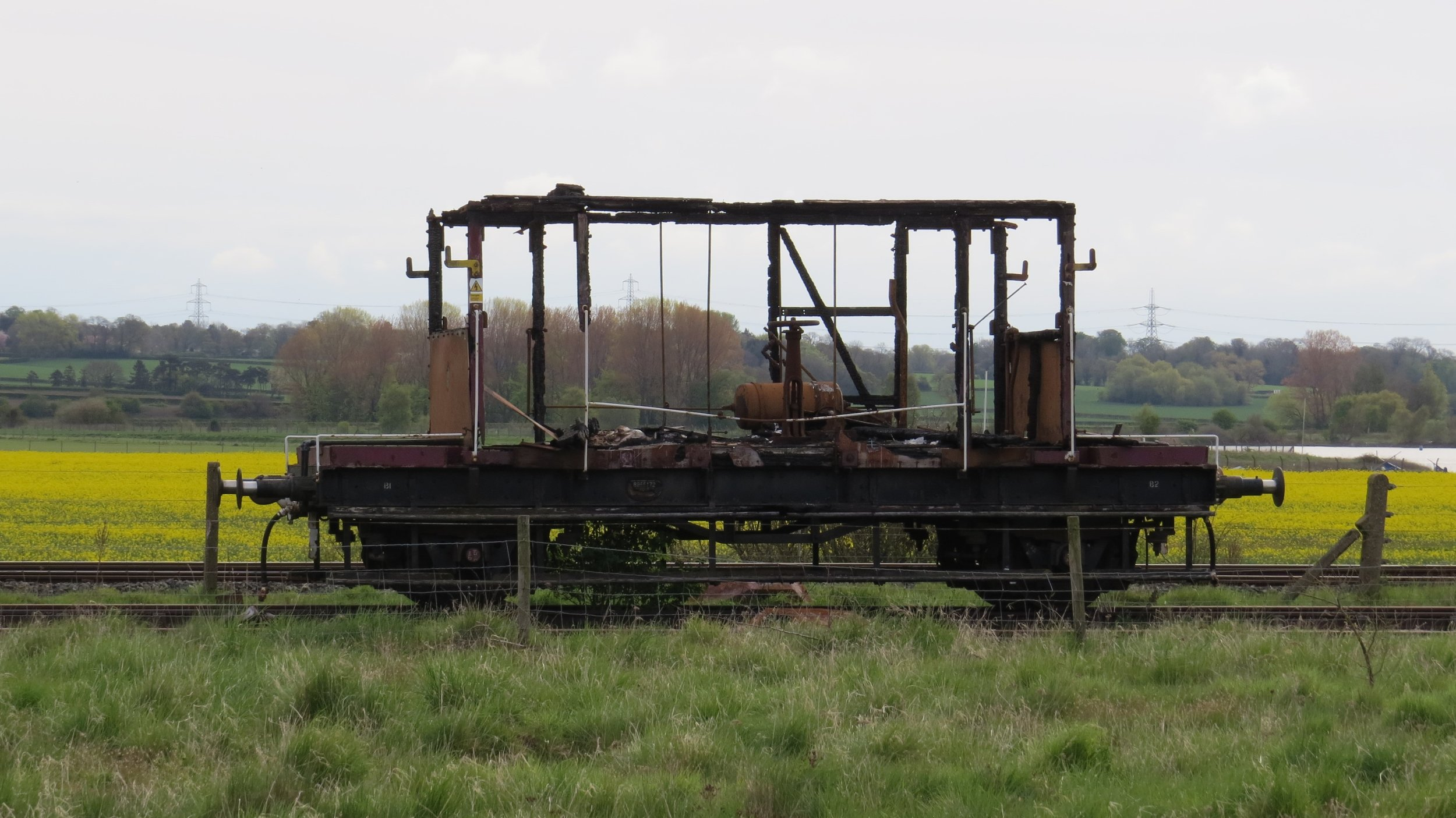Decaying Train Carriage