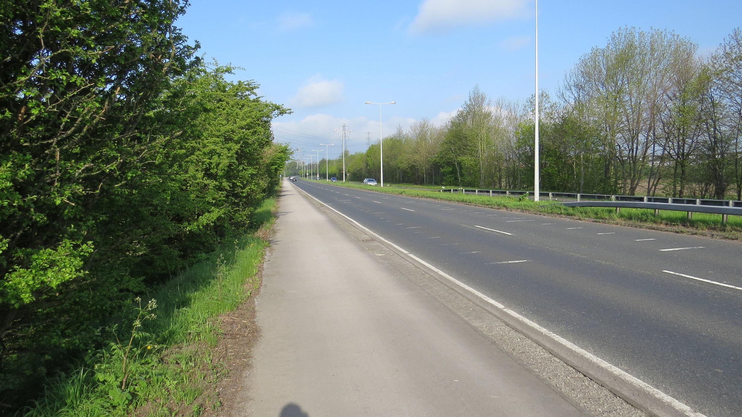Dual Carriageway Walking