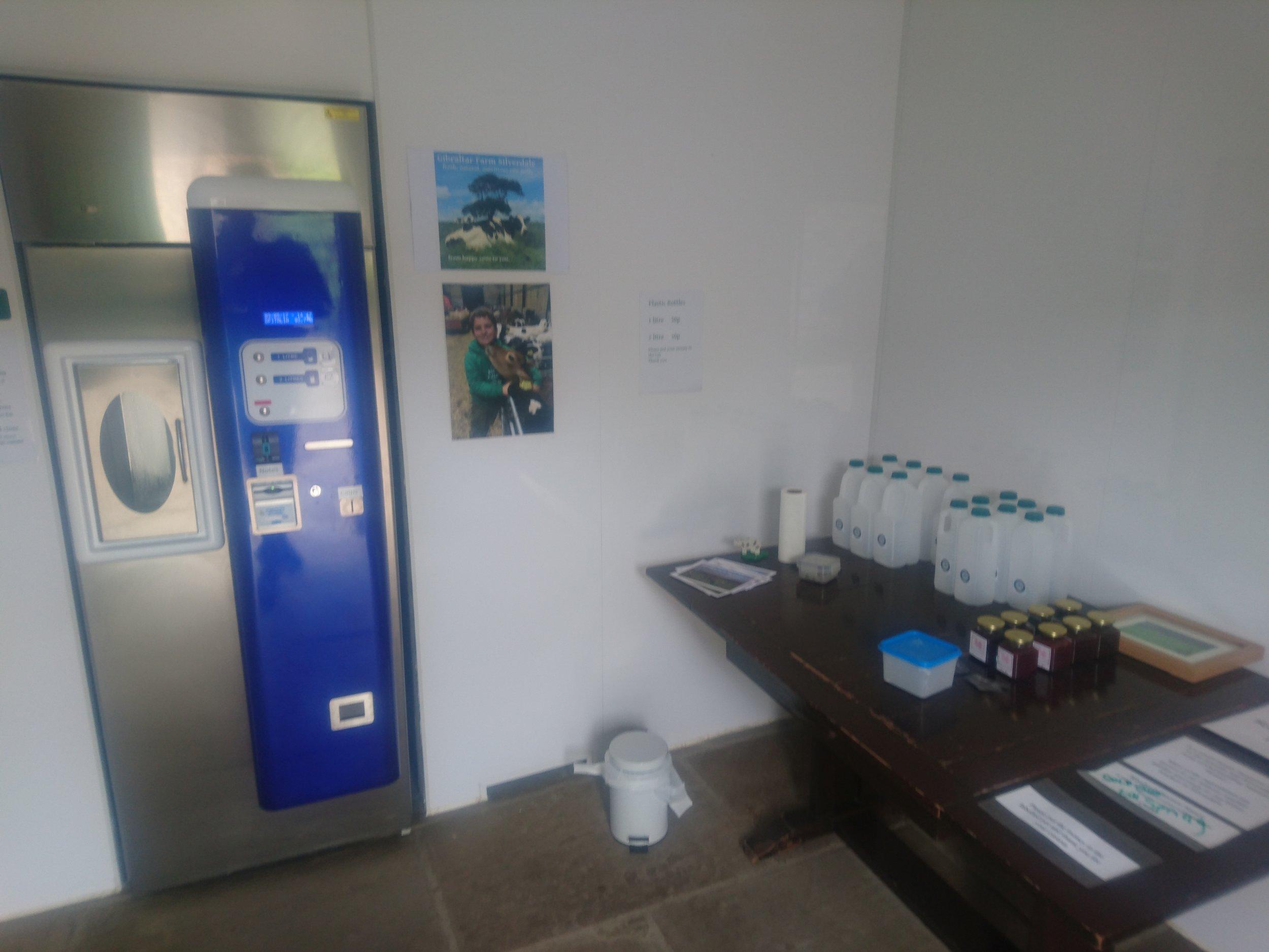 Raw Milk Vending Machine
