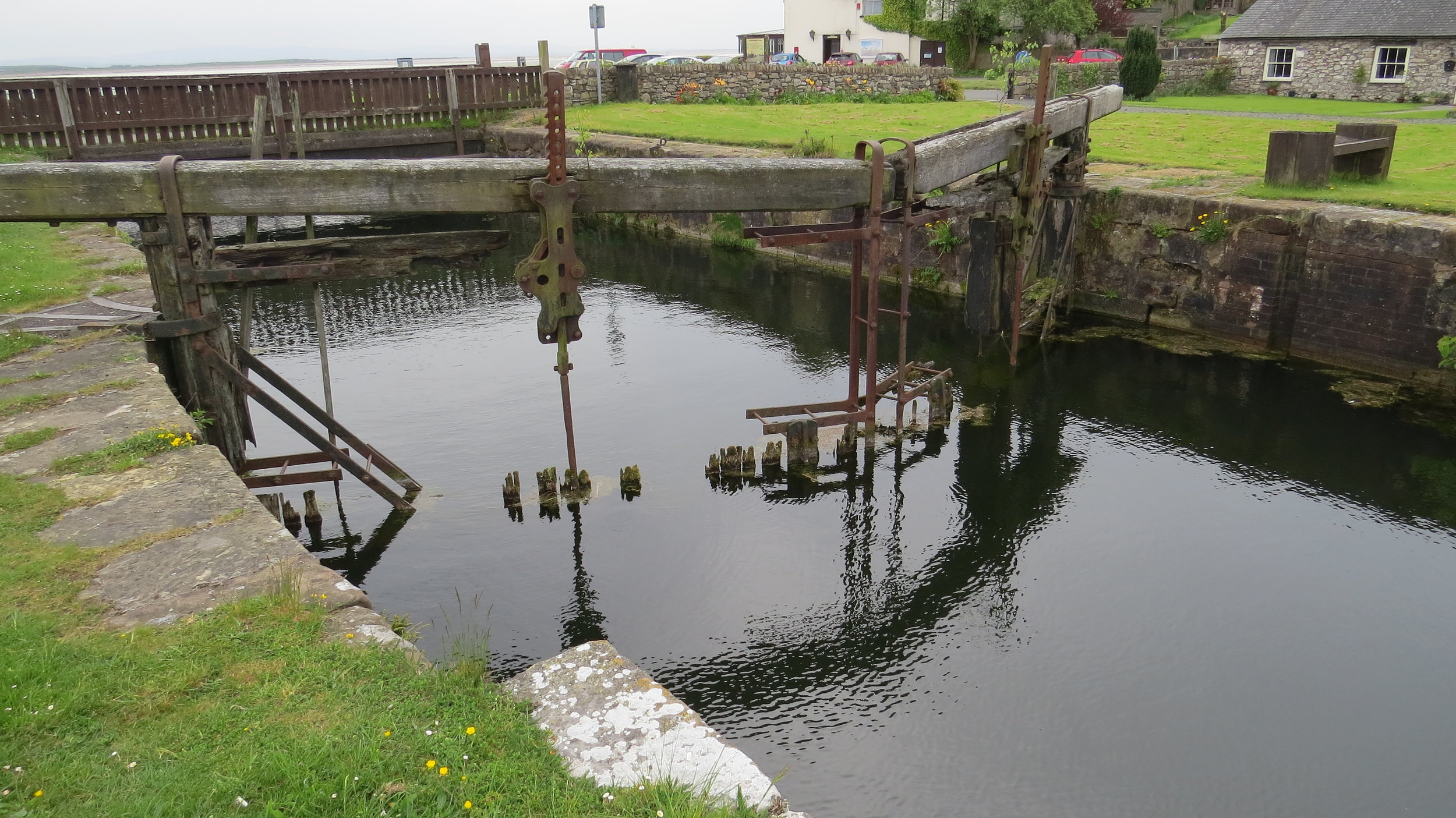 Canal Foot Lock Gate