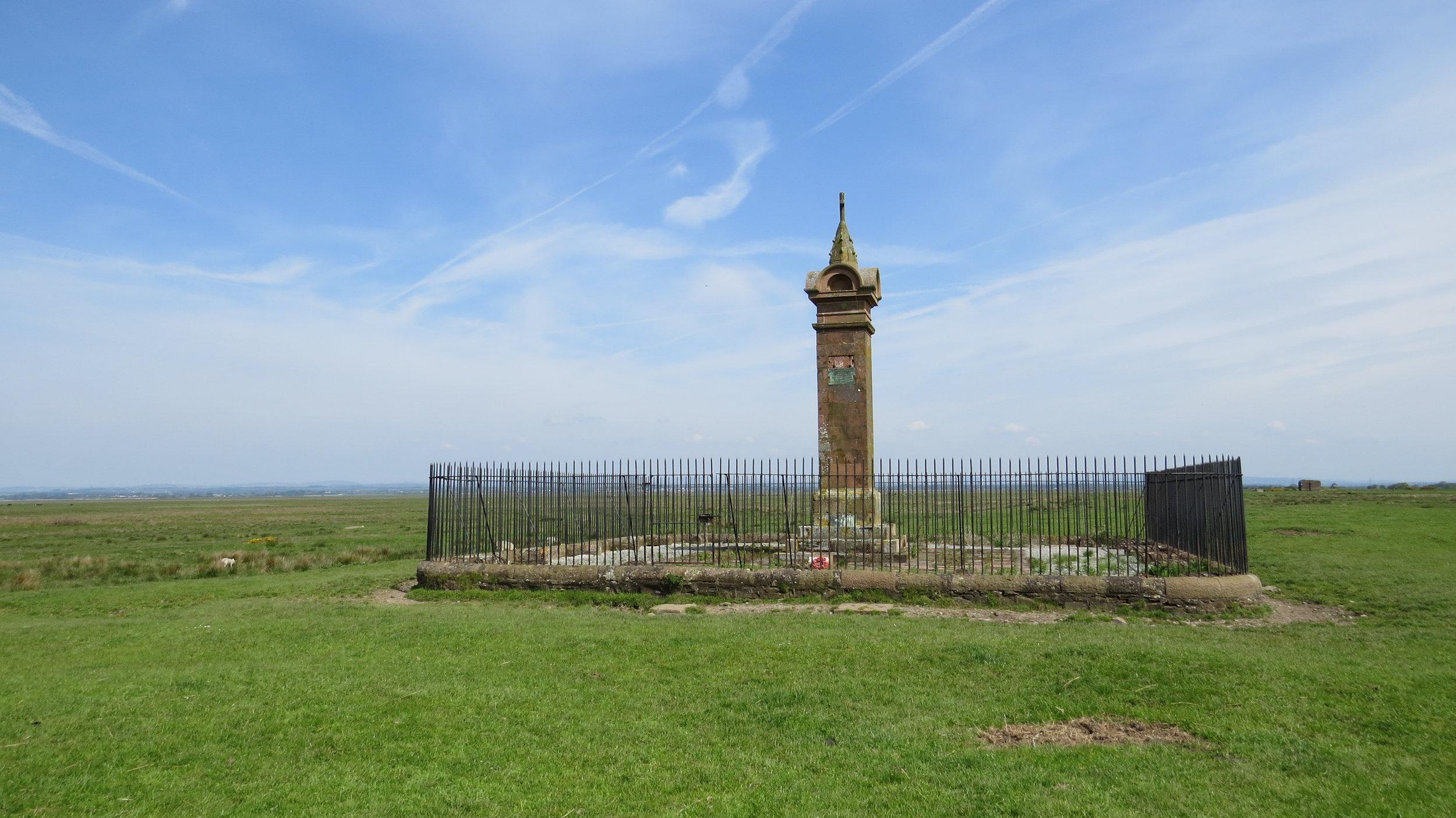 King Edward 1st Monument
