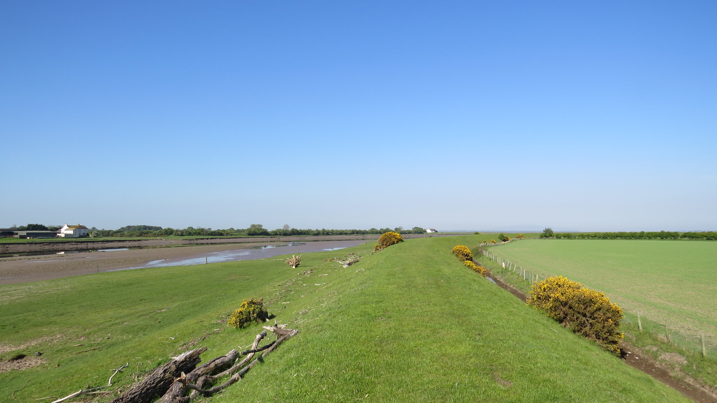 Embankment along Eden