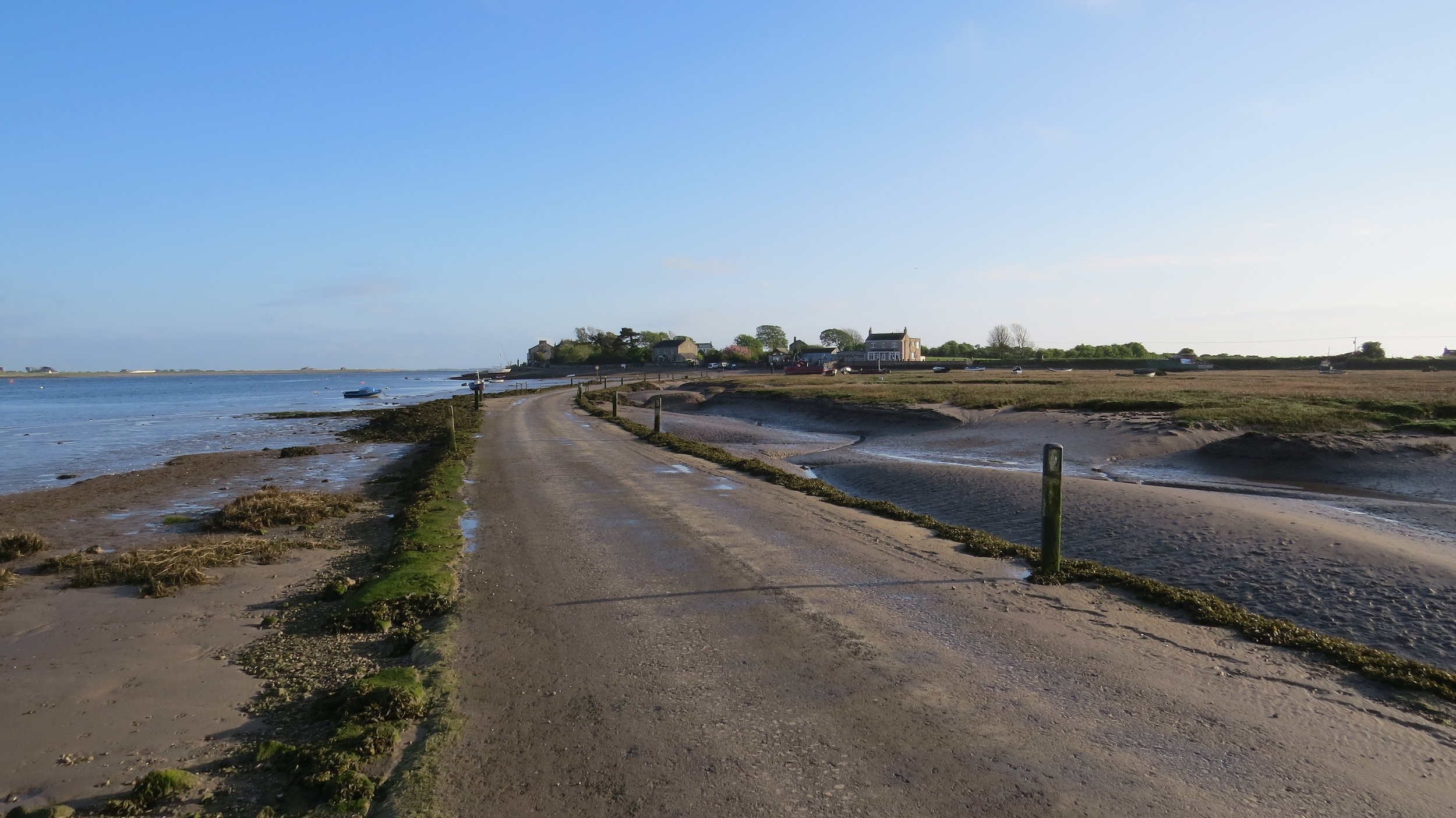 Approach to Sunderland Point
