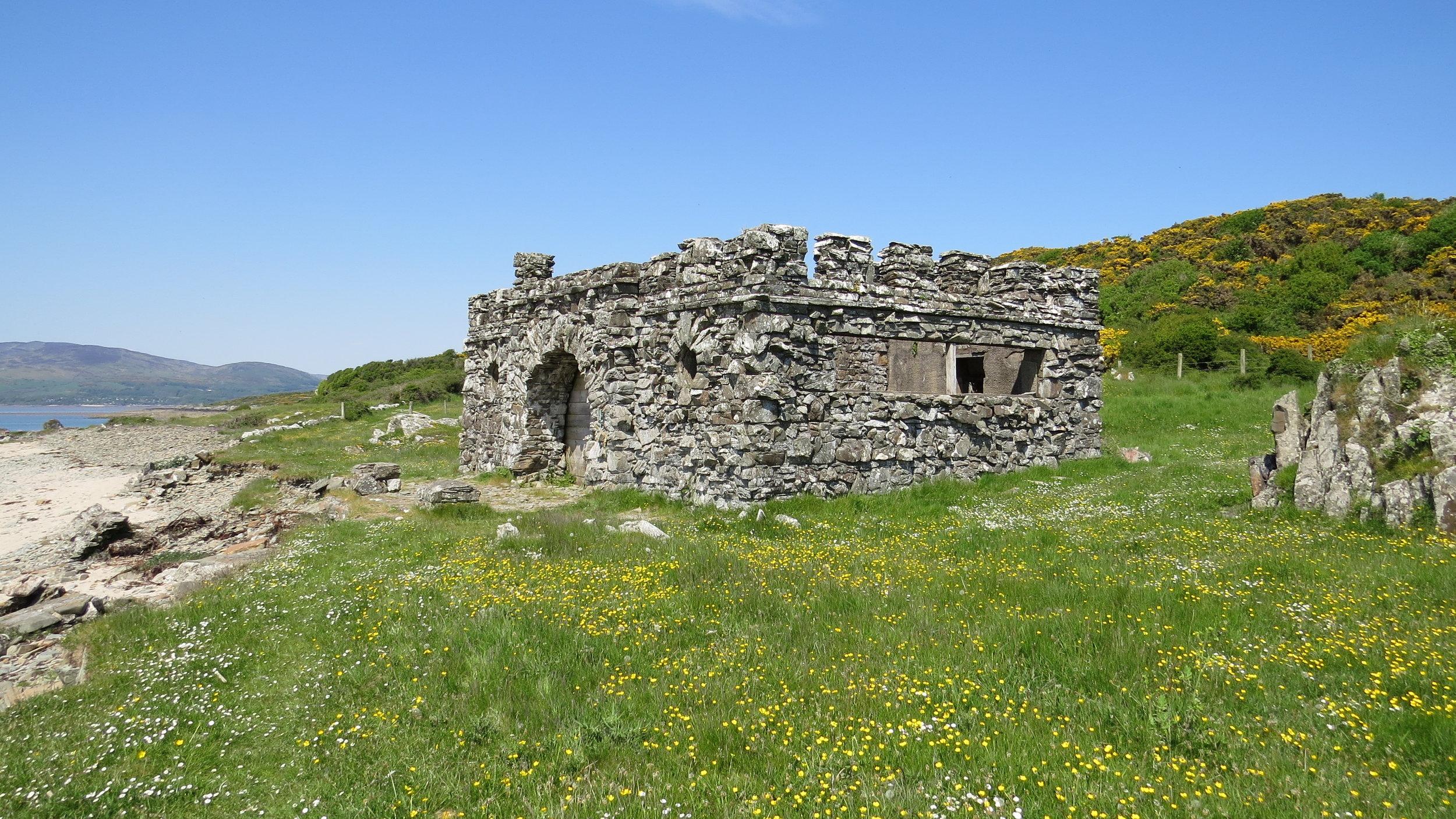 Ruin near Knockbrex