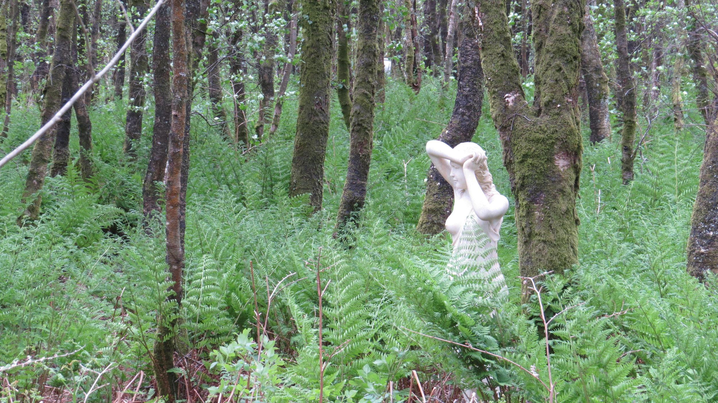 Random Statue in Woodland