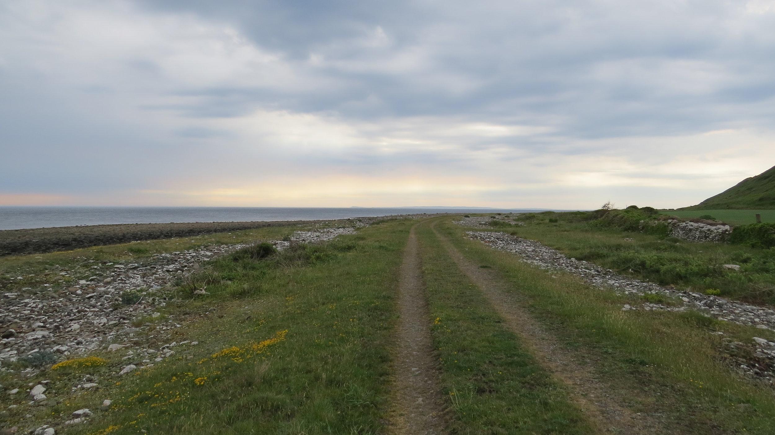 Track along Beach