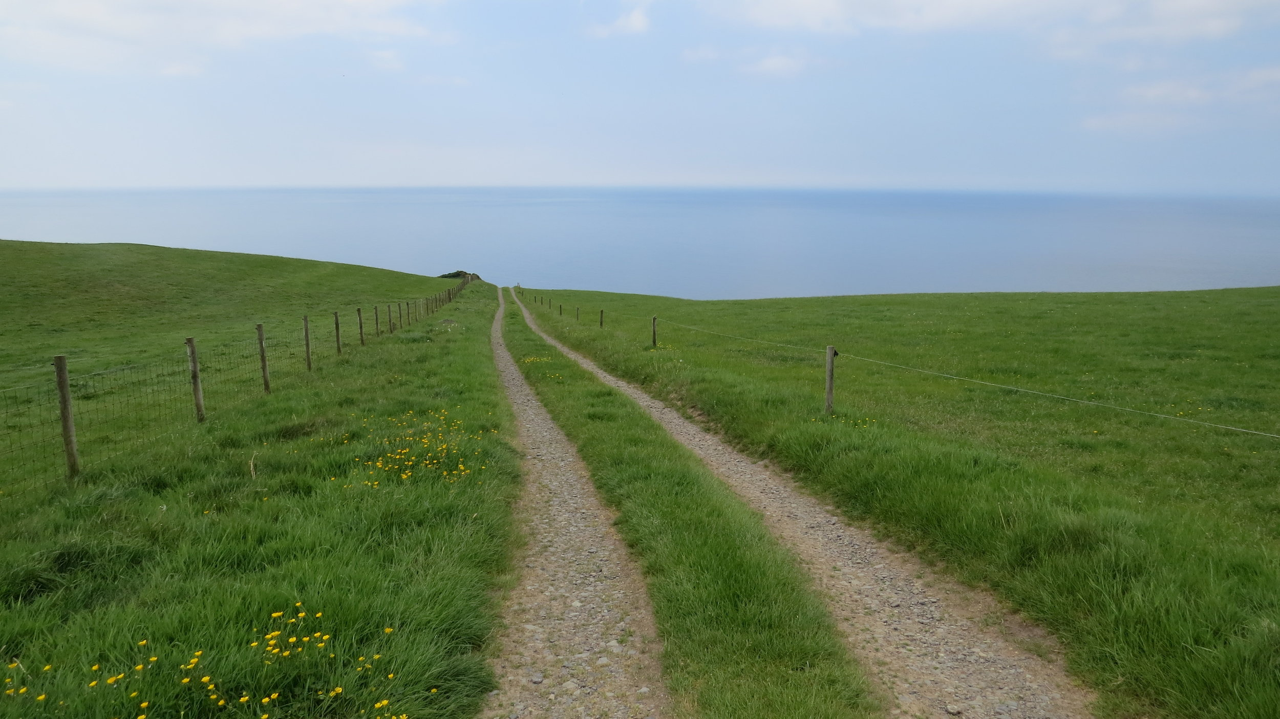 Track to the Sea