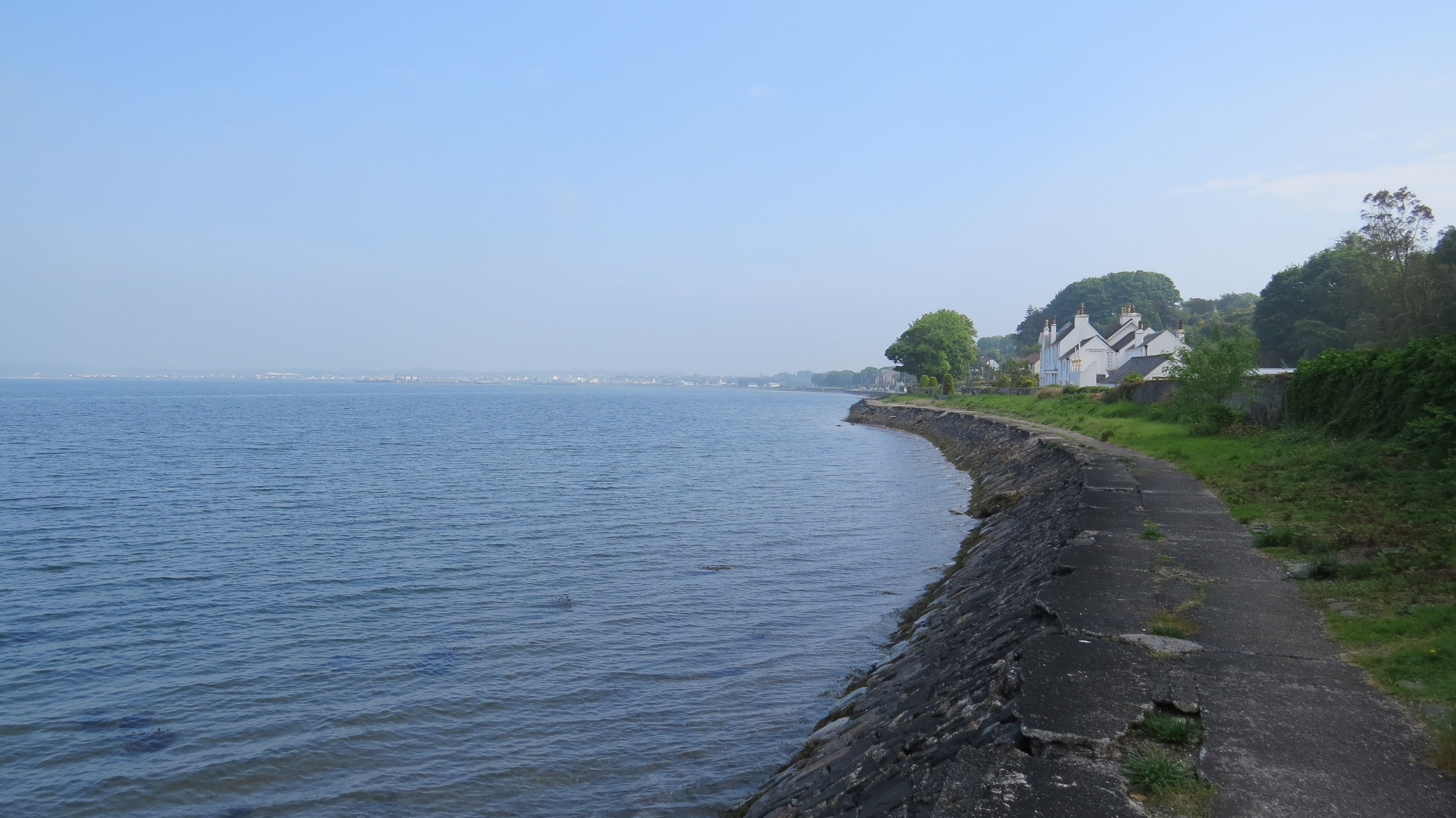 Path into Stranraer