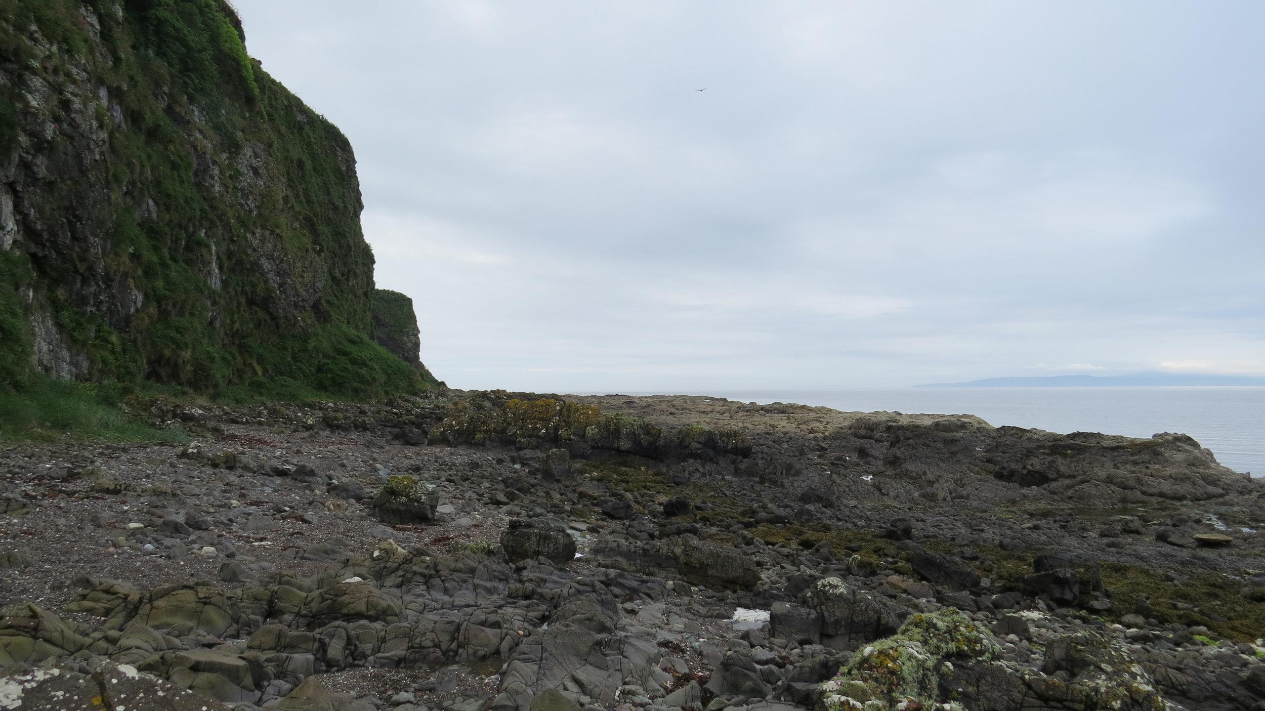 Cliff Bottom Walking