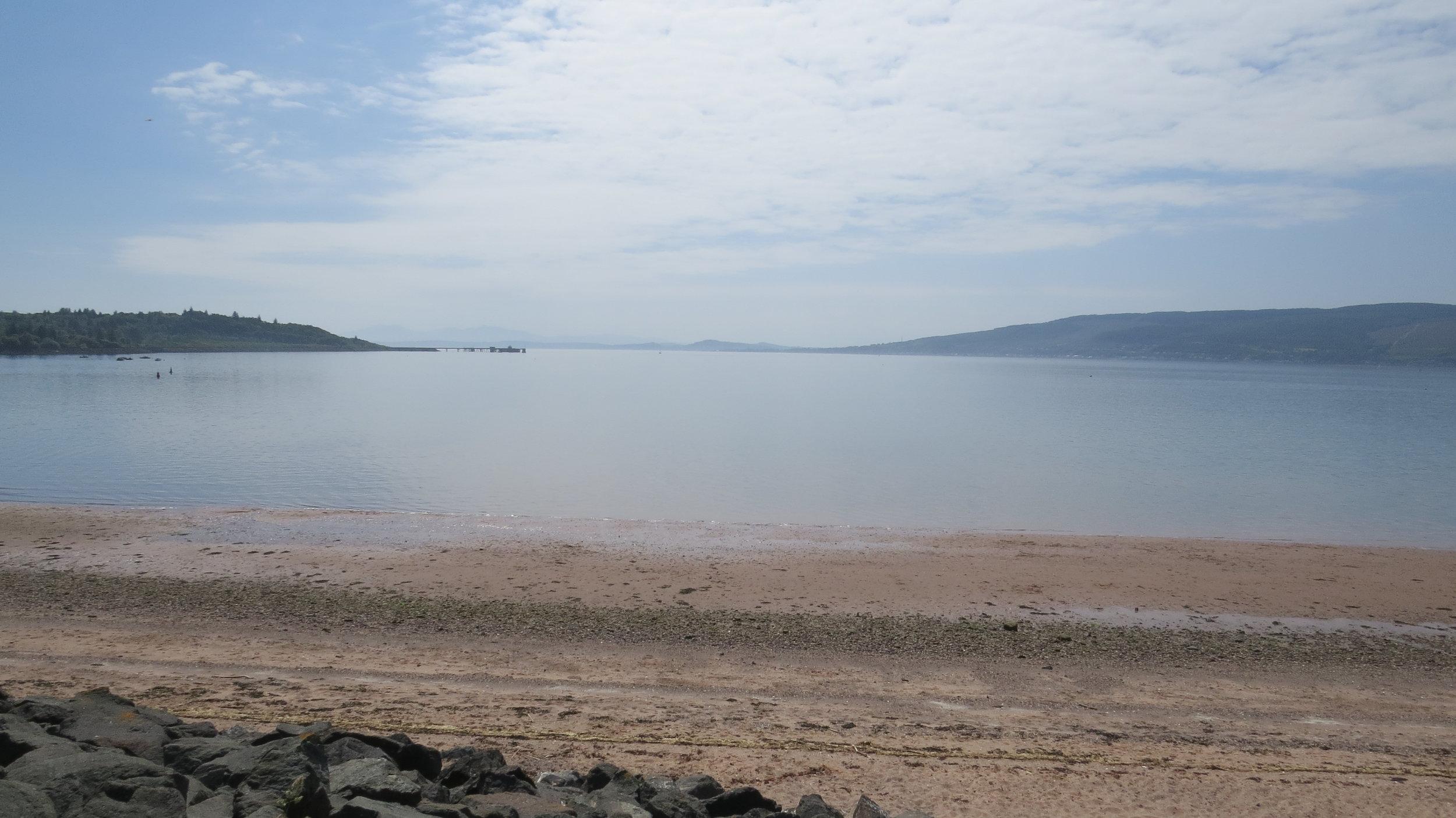 Lunderston Bay