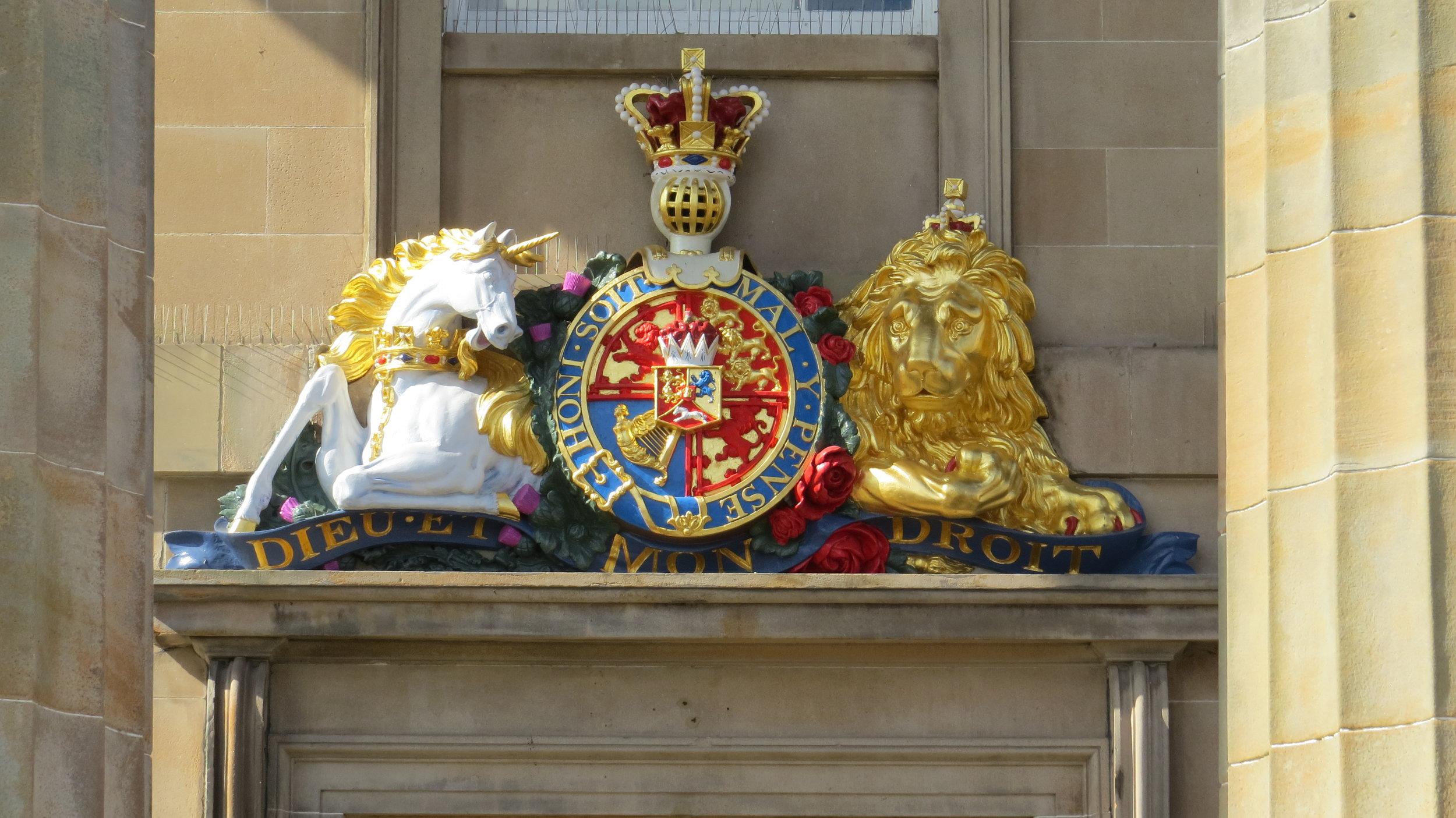 Crest on Public Building