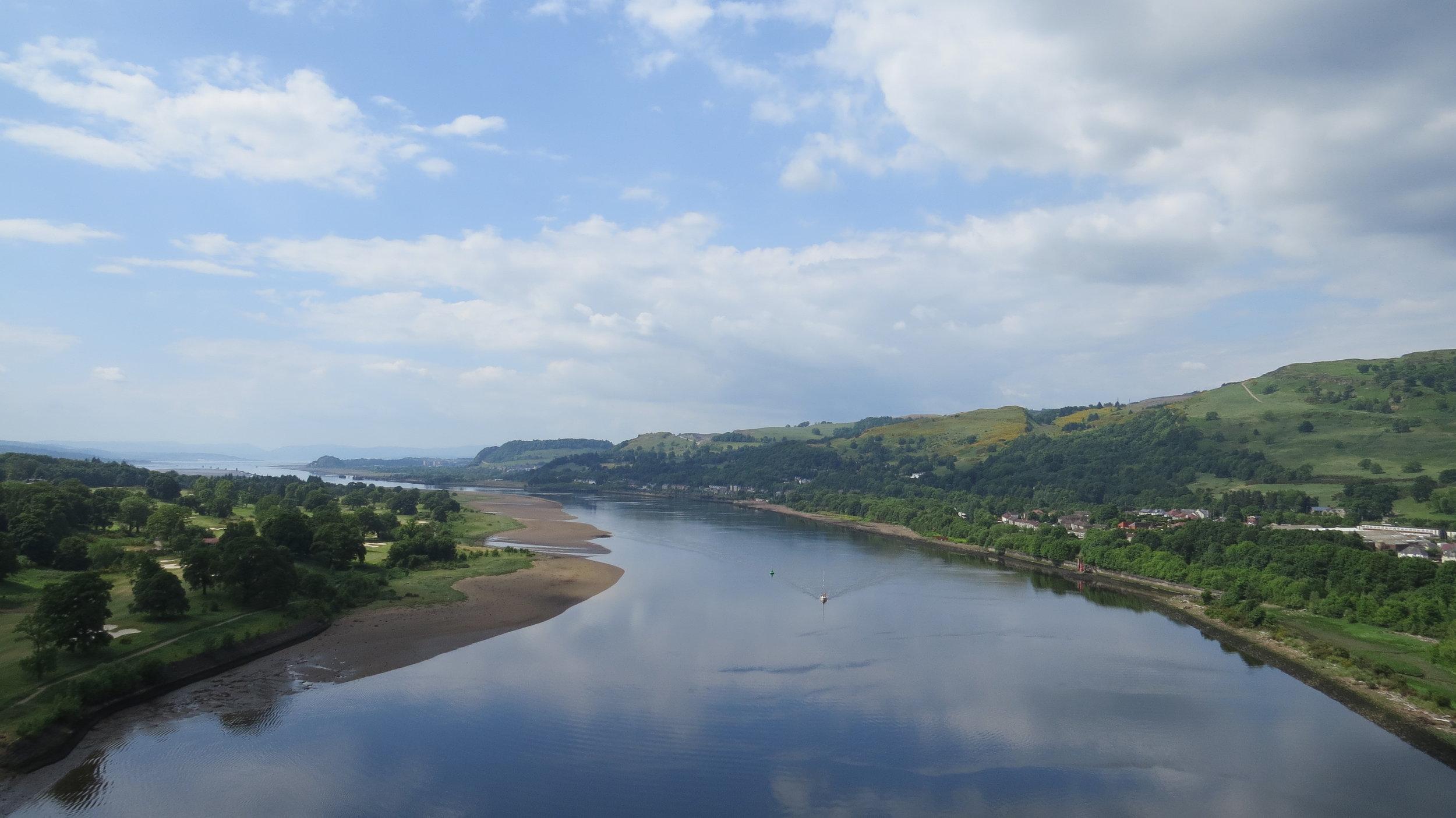 View from Erskine Bridge