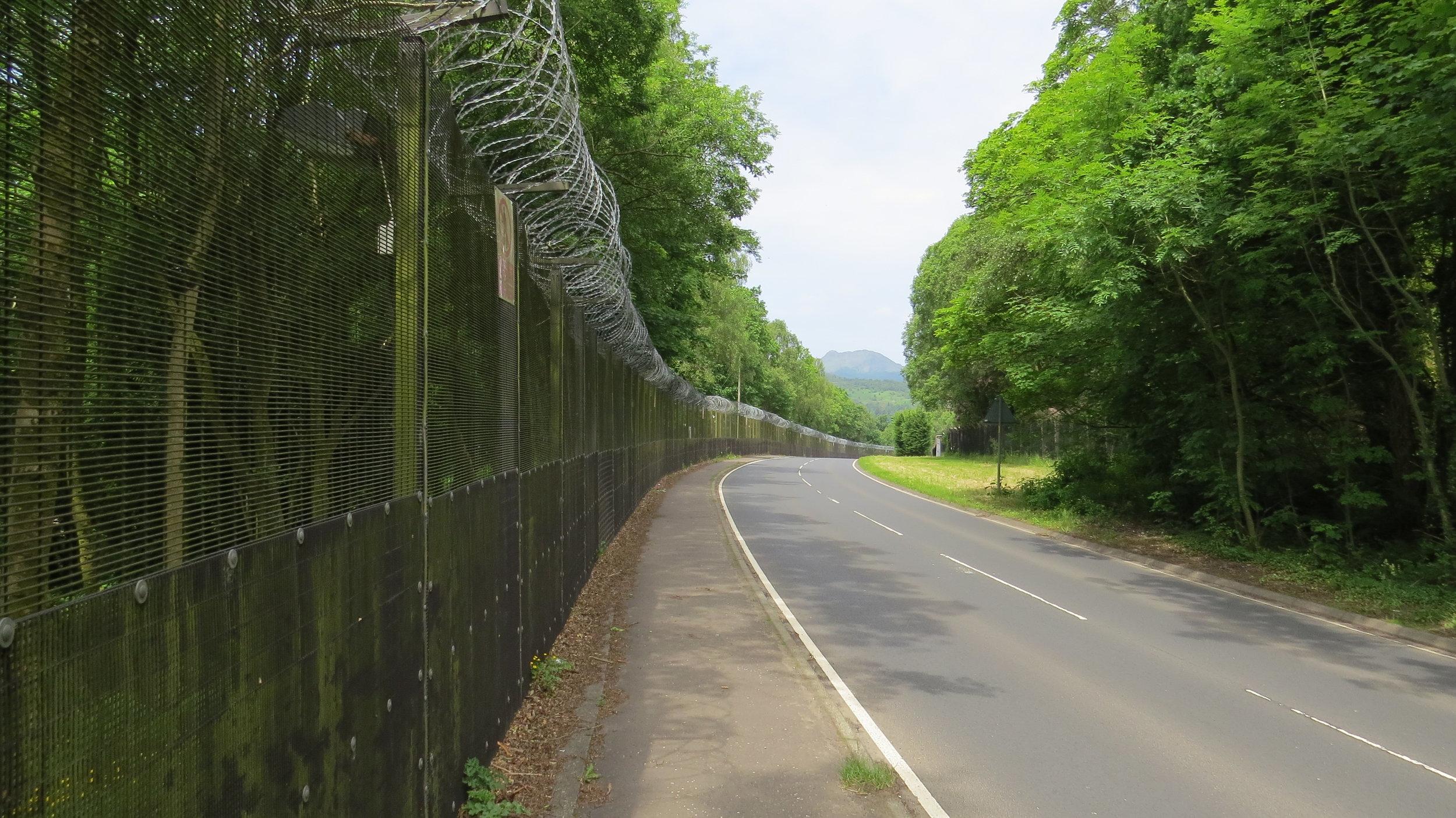 Skirting the Military Base