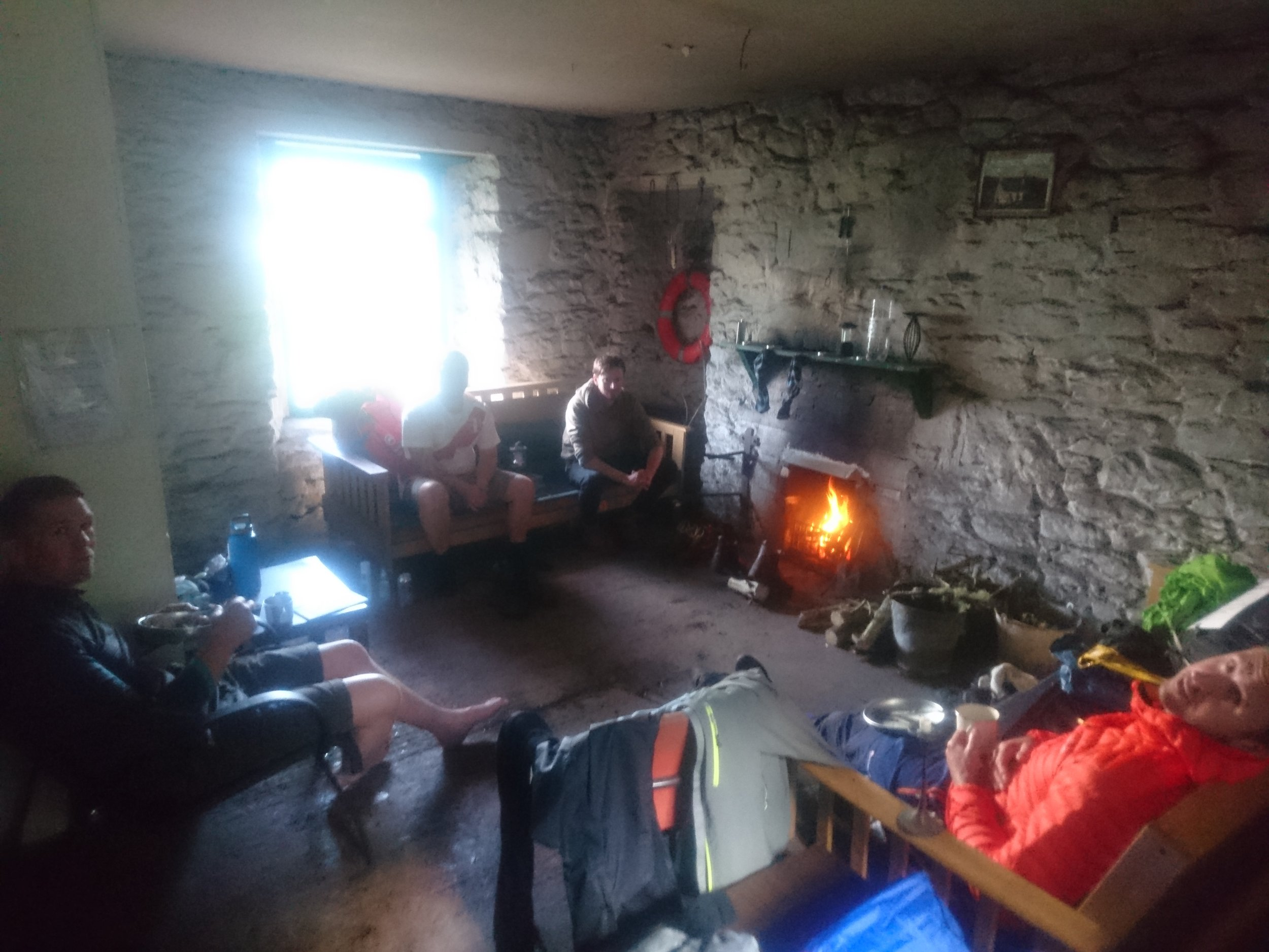 Chilling Inside Bothy