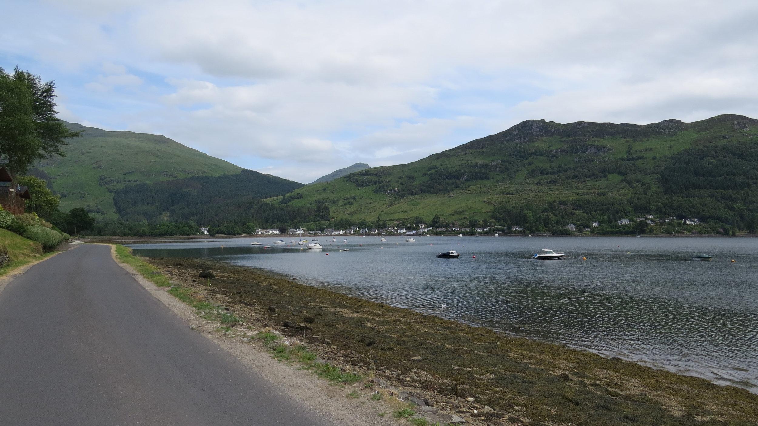 Lochgoilhead across Water