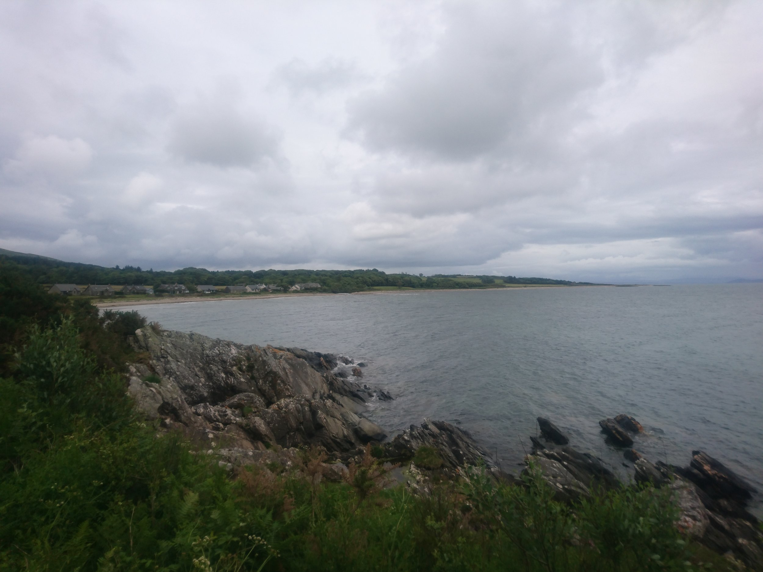 Looking back to Skipness