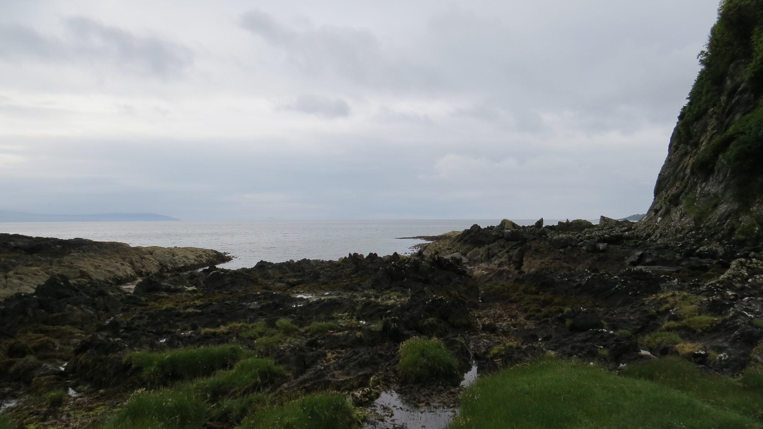 Kintyre Way over Rocks