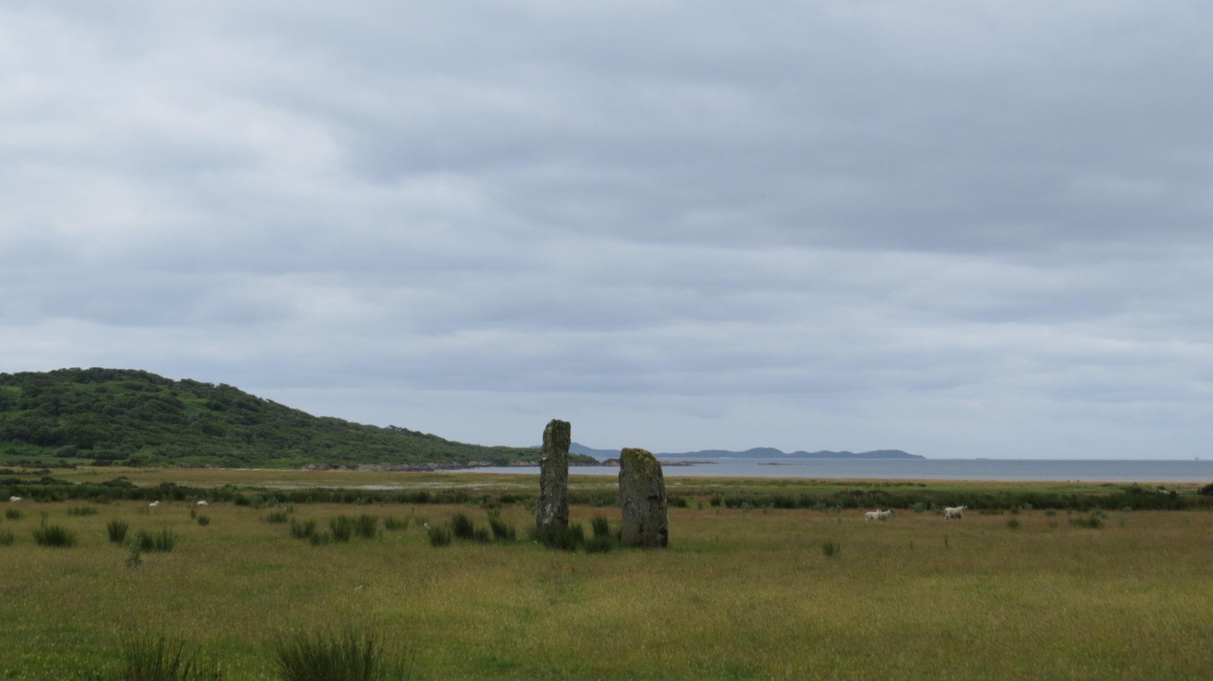 Standing Stones Loch Stornoway