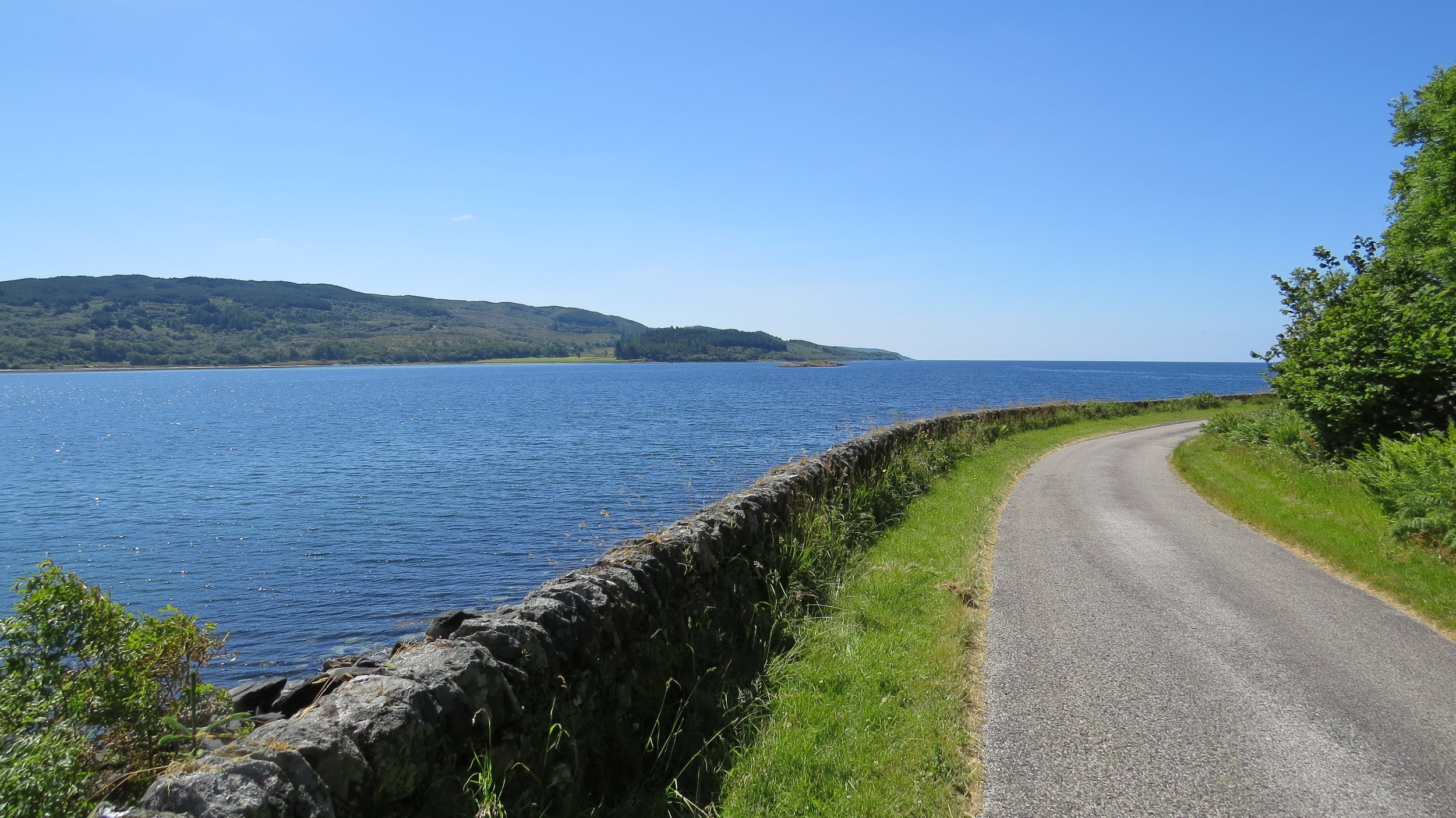 Road along the Loch